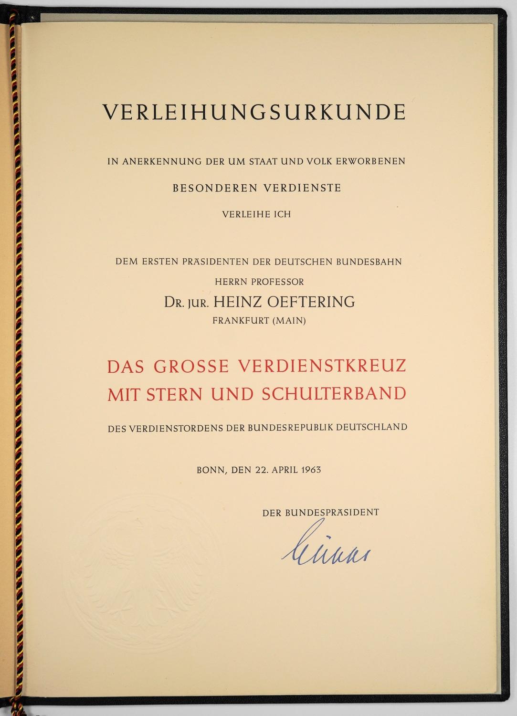 File:Verleihungsurkunde zum Großen Verdienstkreuz des ...