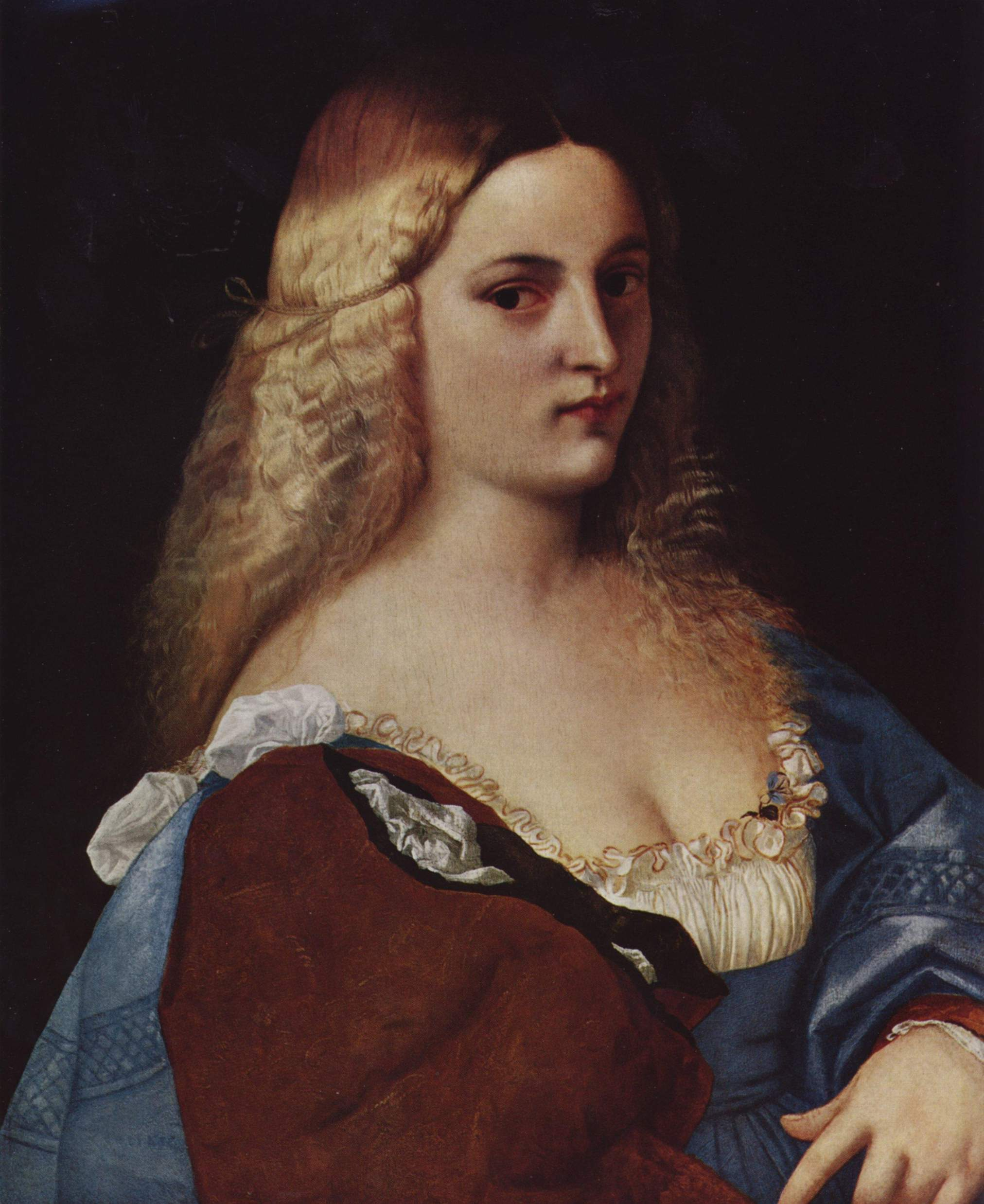 Violante by Palma il Vecchio (c. 1520), at the Kunsthistorisches Museum, Vienna.