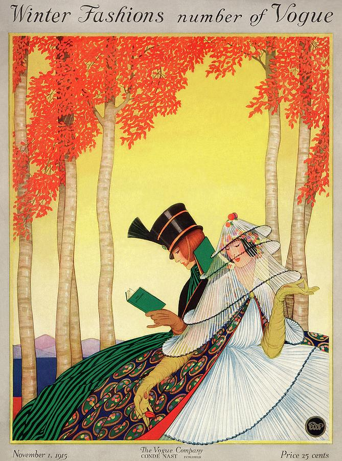 Vogue cover November 1st, 1915, by George Wolfe Plank.jpg
