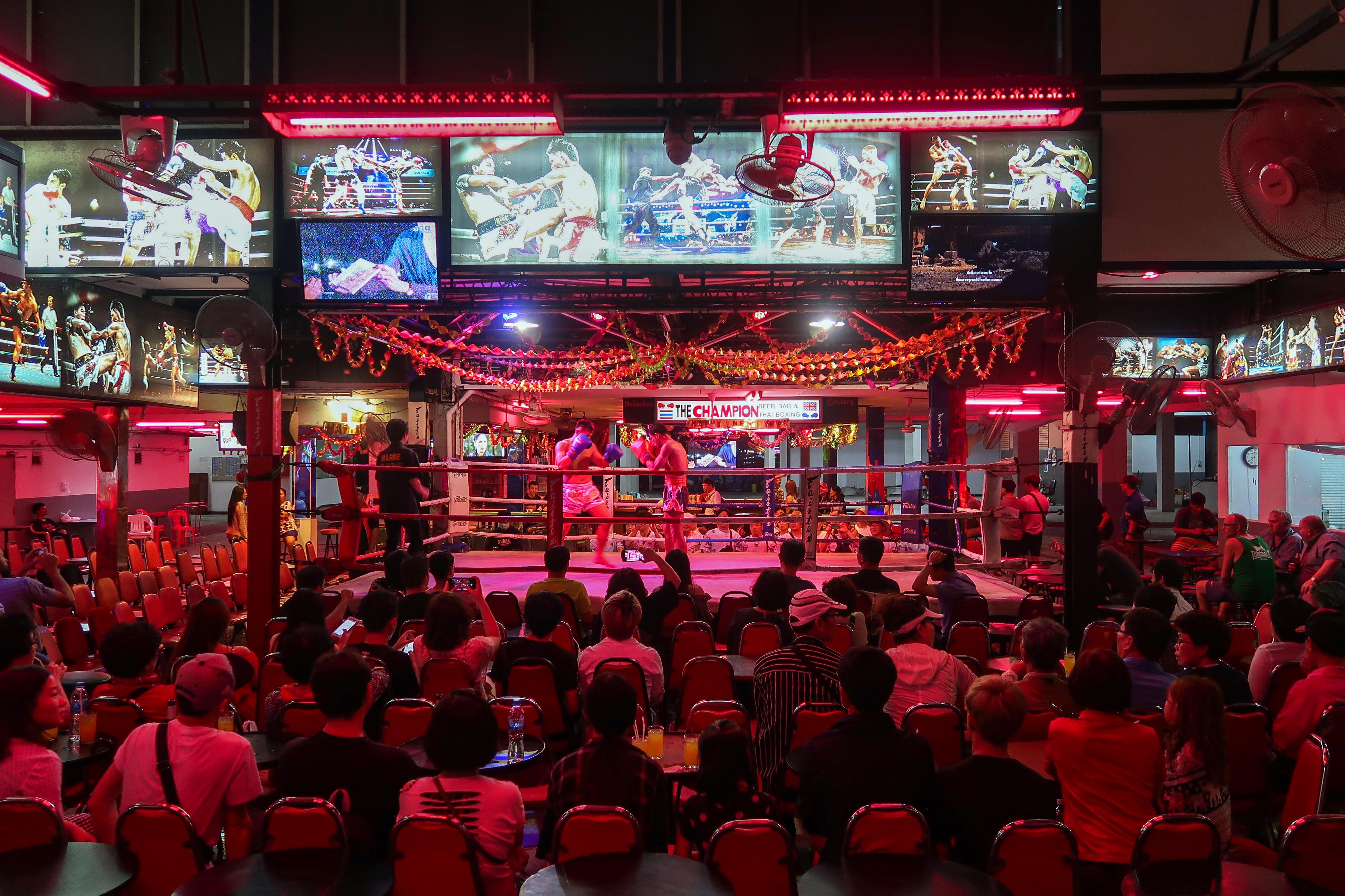 Walking Street Pattaya The Champion