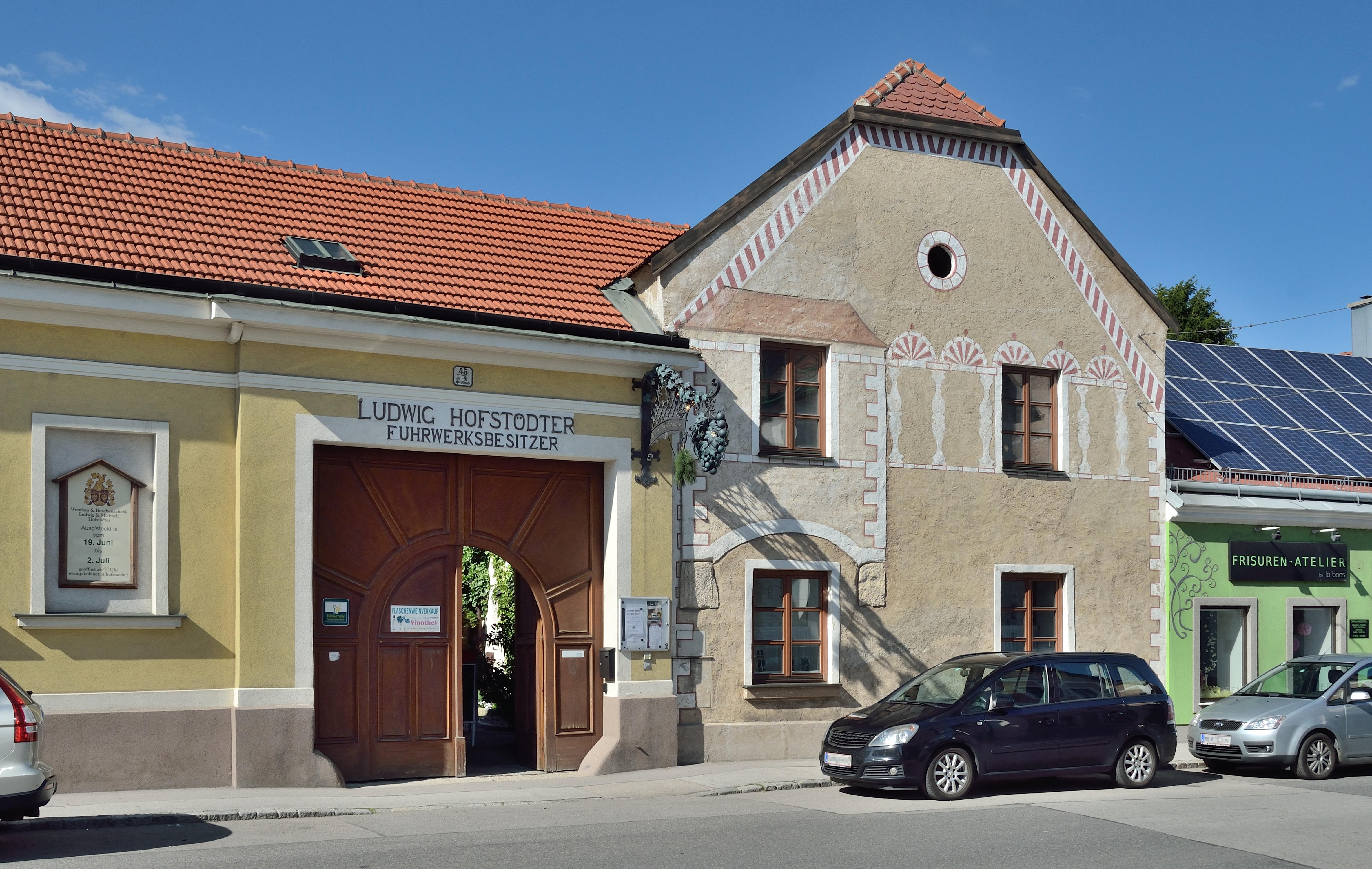 Fileweinbau Ludwig Hofstädter Hauptstraße 45 Guntramsdorf