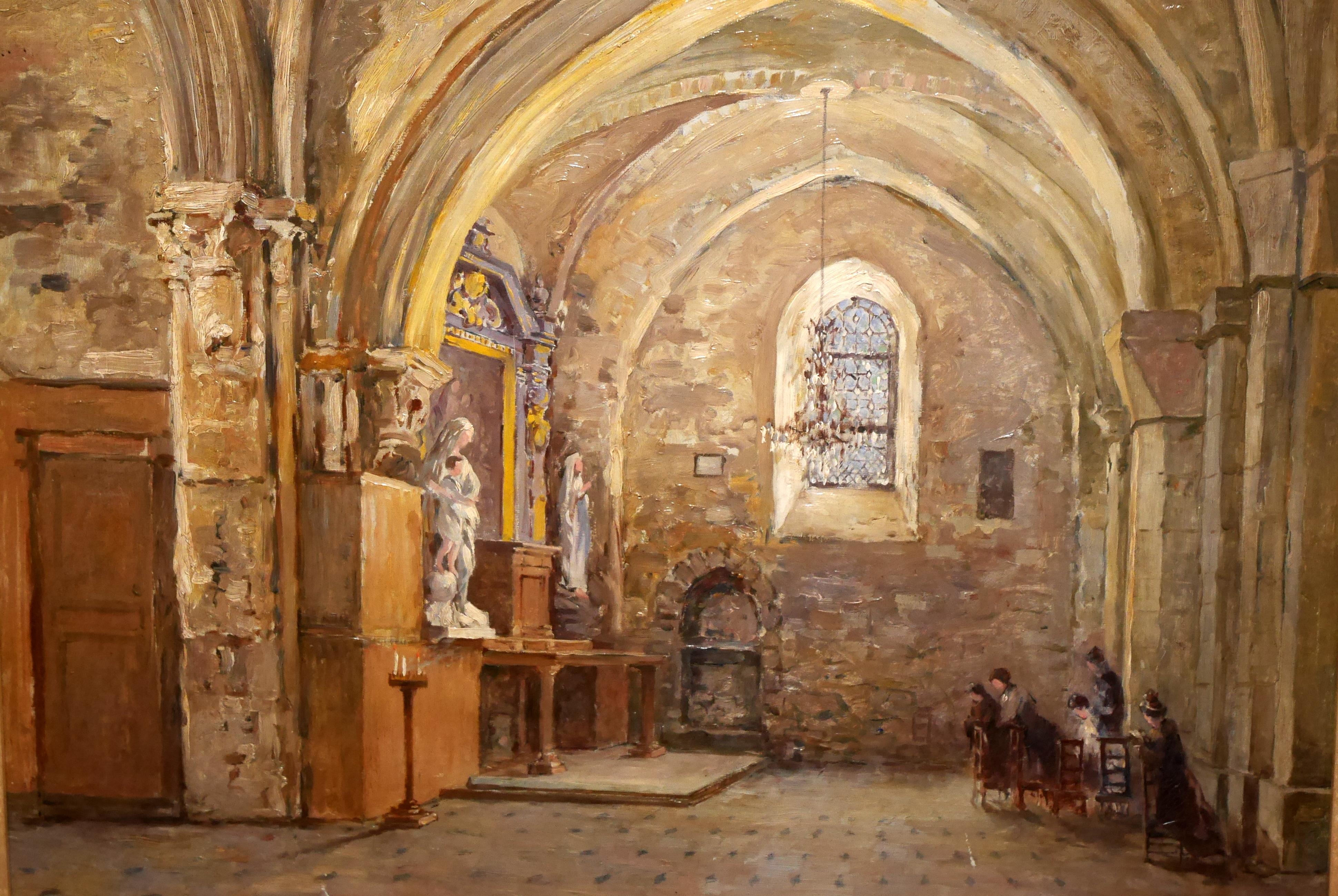 file william thorney la chapelle de la vierge marie. Black Bedroom Furniture Sets. Home Design Ideas