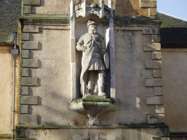 FileWilliam Wallace Statue St Nicholas Church Lanark