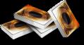 Rappresentazione grafica di alcune carte da gioco di Yu-Gi-Oh!