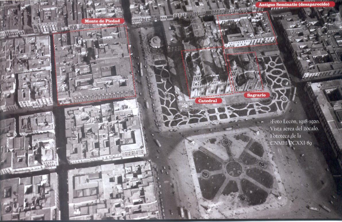 Mexico City Satellite View