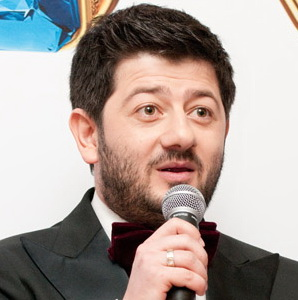 Mikhail Galustyan Russian comedian, screenwriter and producer