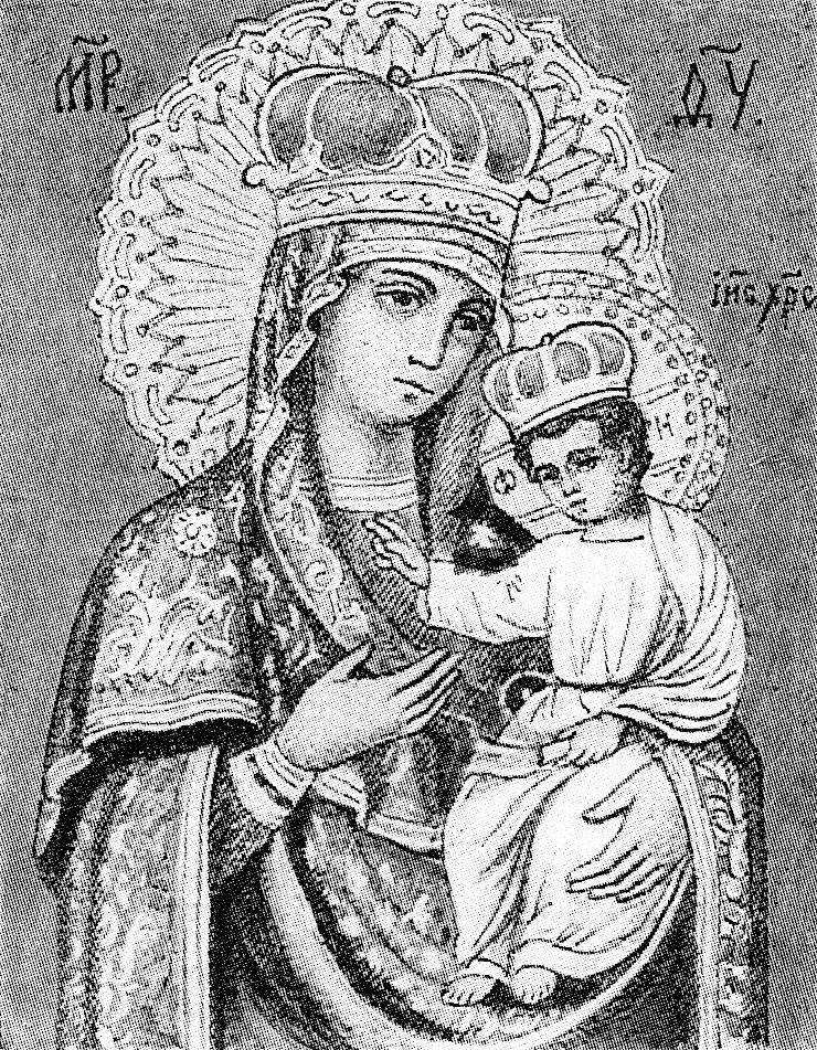 Черниговская Гефсиманская икона по С. И. Снессоревой.