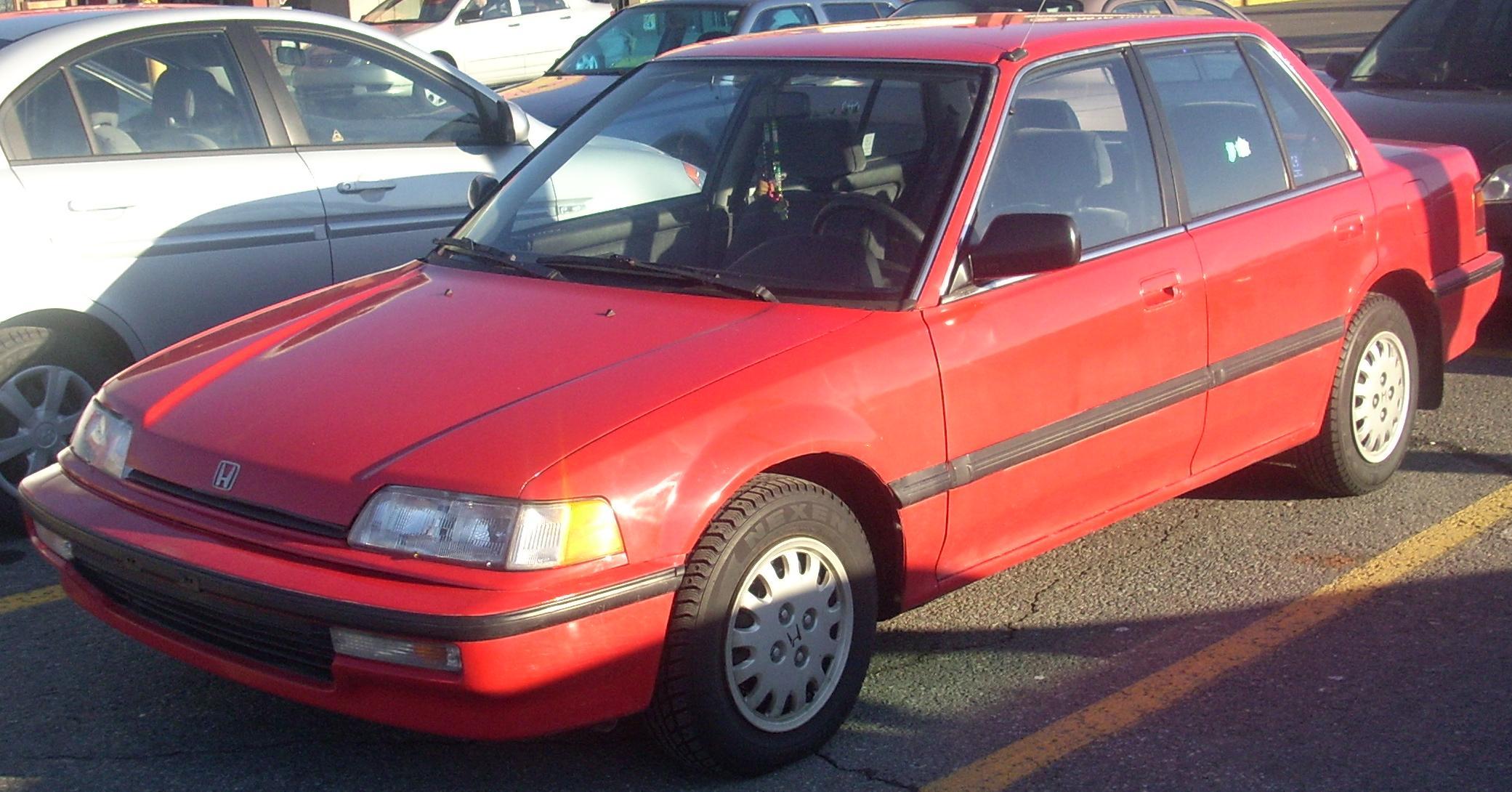 only cars 91 honda civic cars