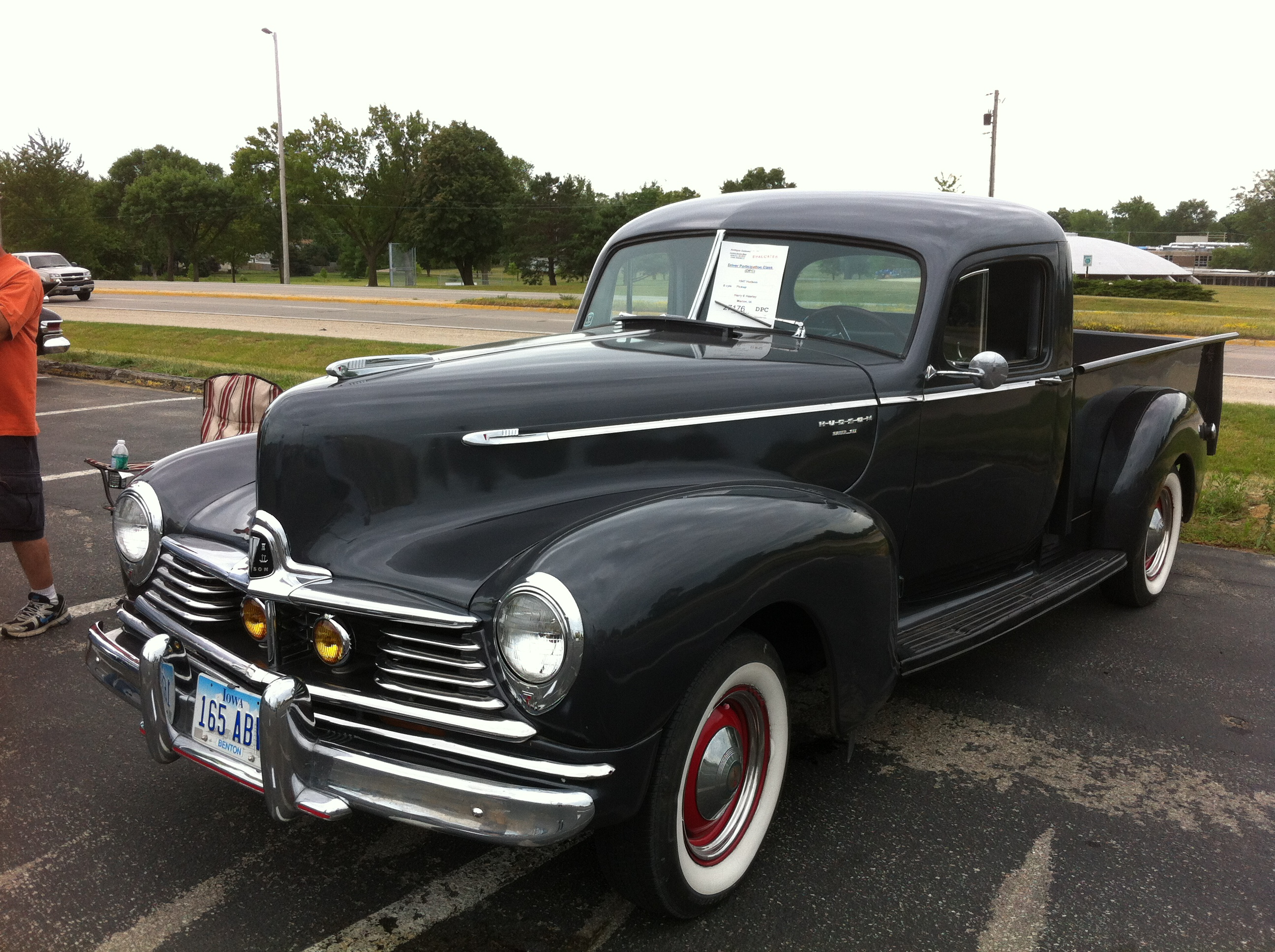 File 1947 Hudson Pickup Aaca Iowa Front Left Jpg