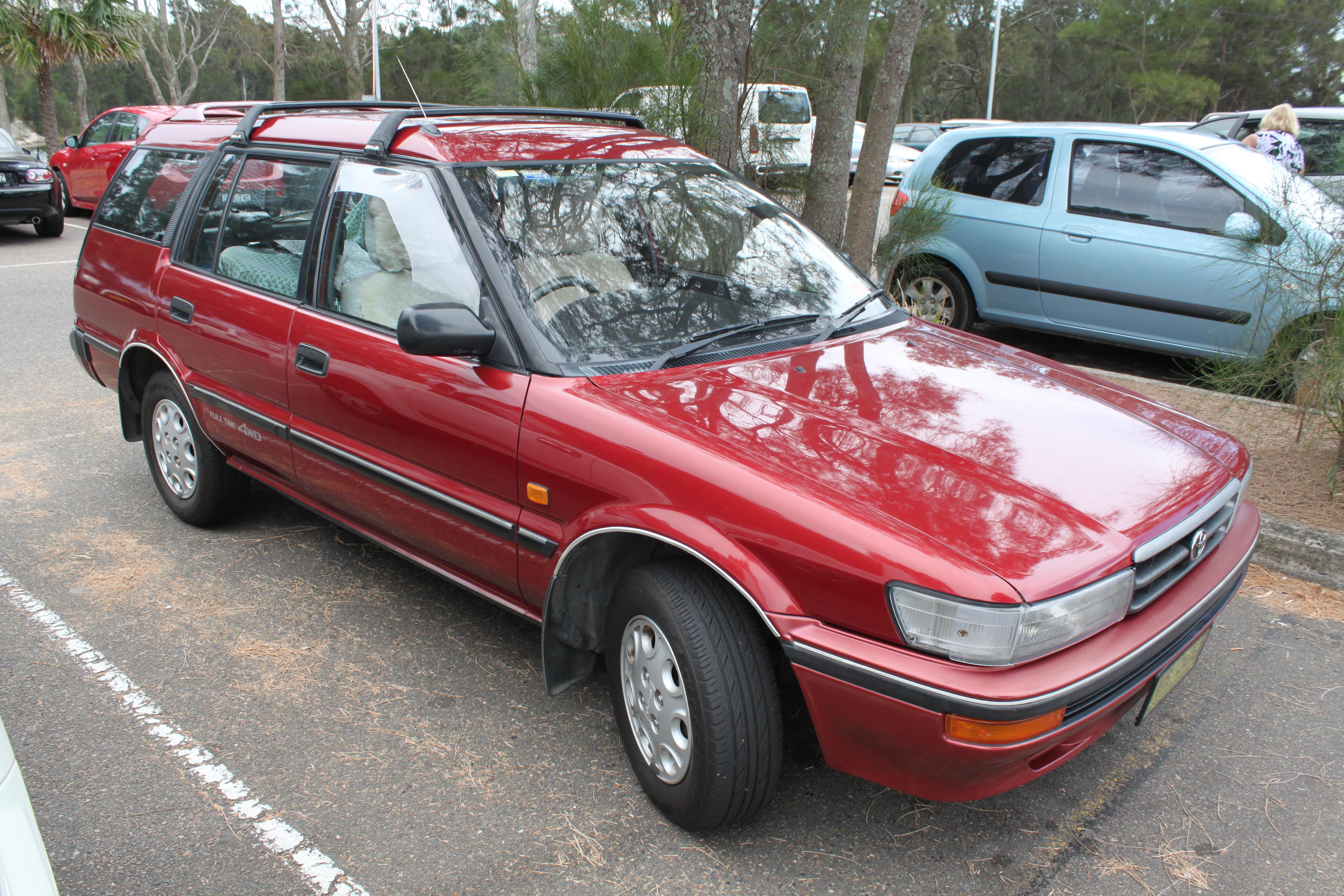 1991 toyota corolla wagon