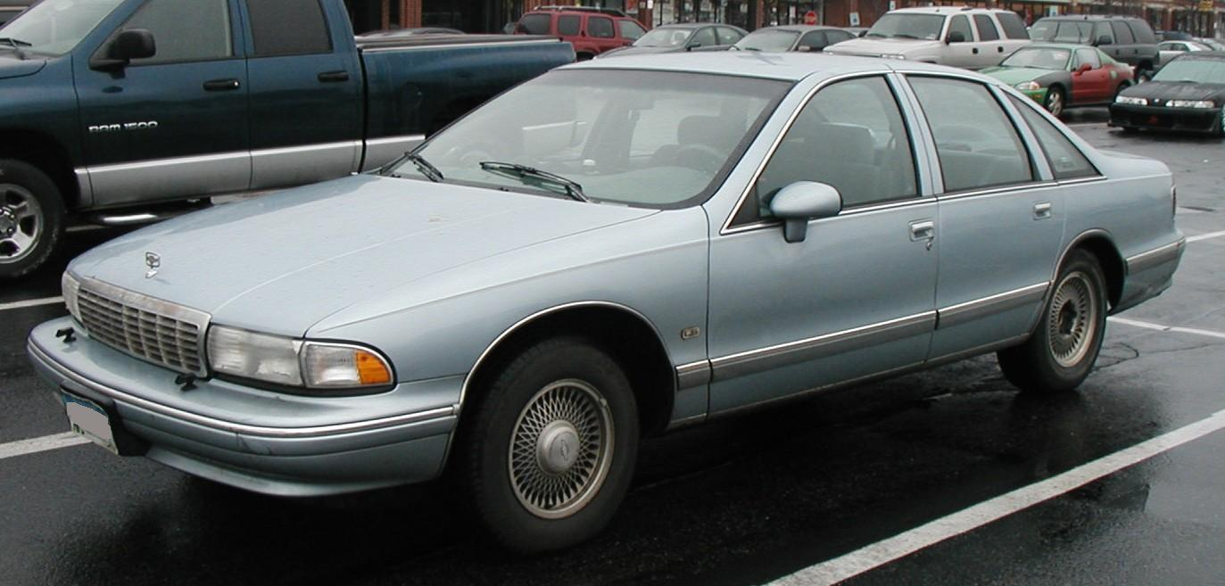 All Chevy 96 chevy : File:1993-96 Chevrolet Caprice.jpg - Wikimedia Commons