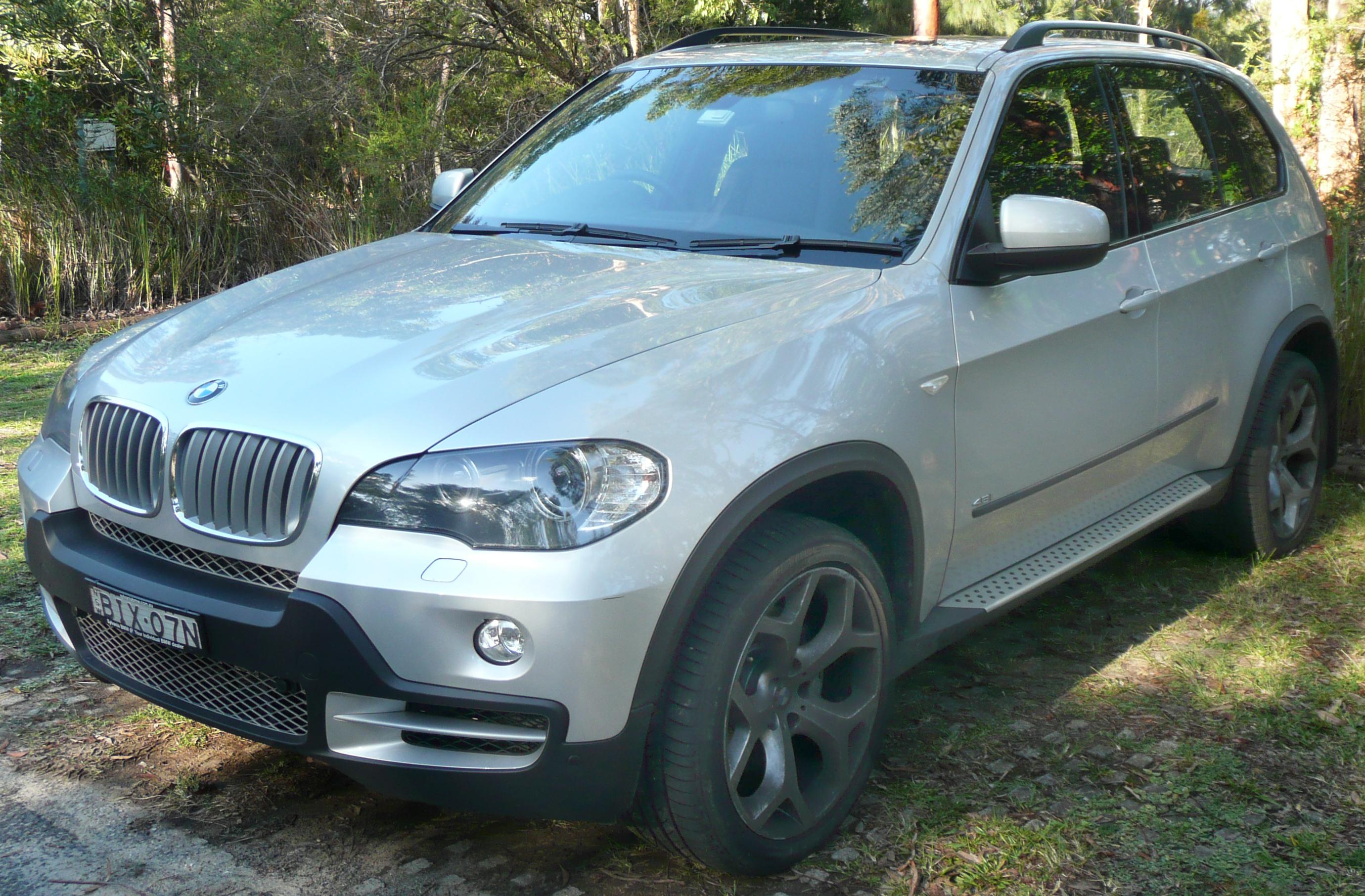 File BMW X E I Jpg Wikimedia Commons - 2007 bmw x5 4 8i for sale