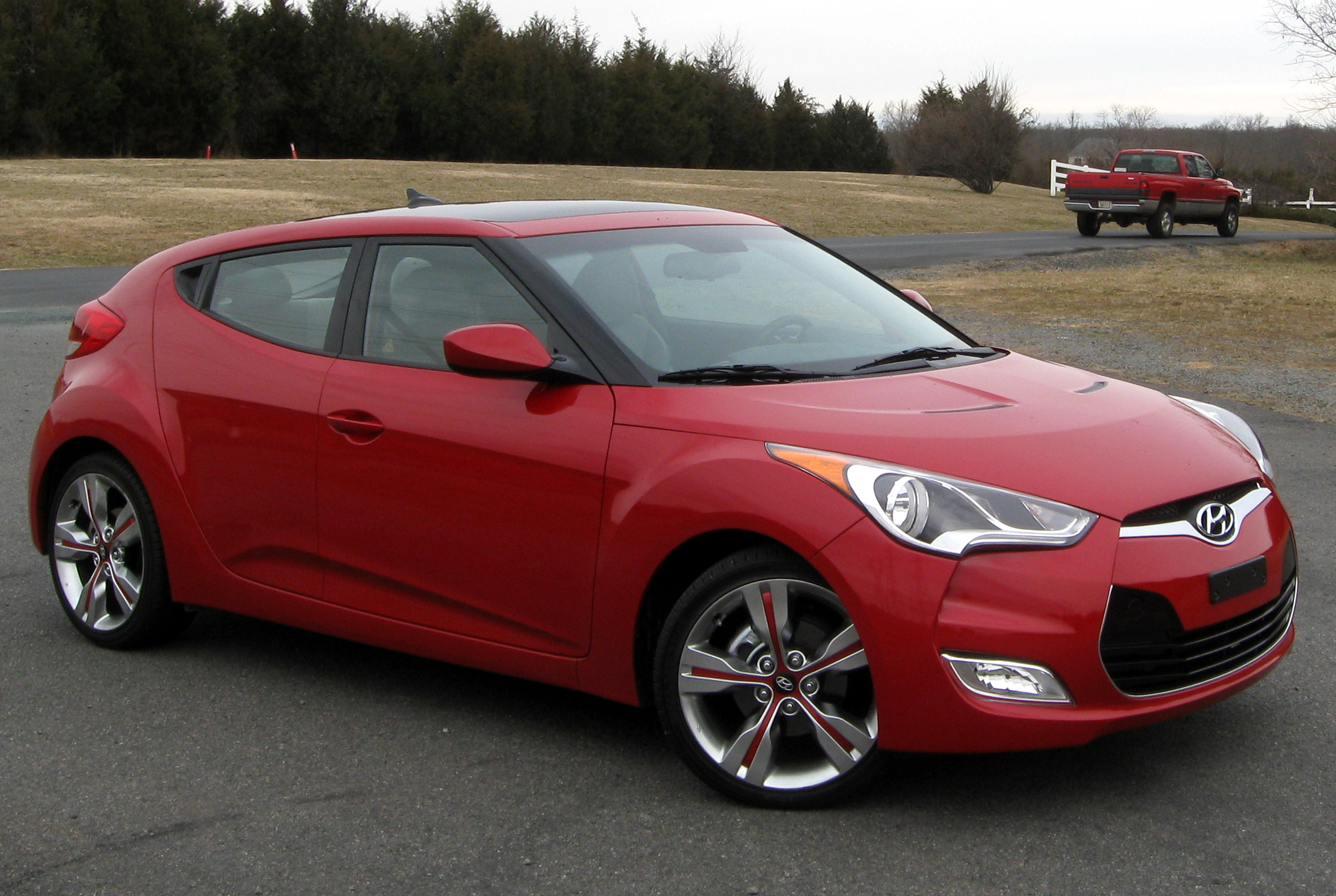 2012 Hyundai Veloster Review, Ratings, Specs, Prices, and ...  |2012 Hyundai Veloster