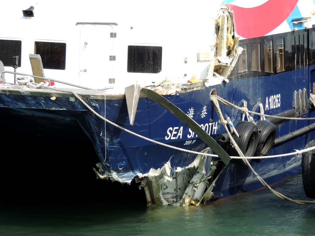 lamma island collision