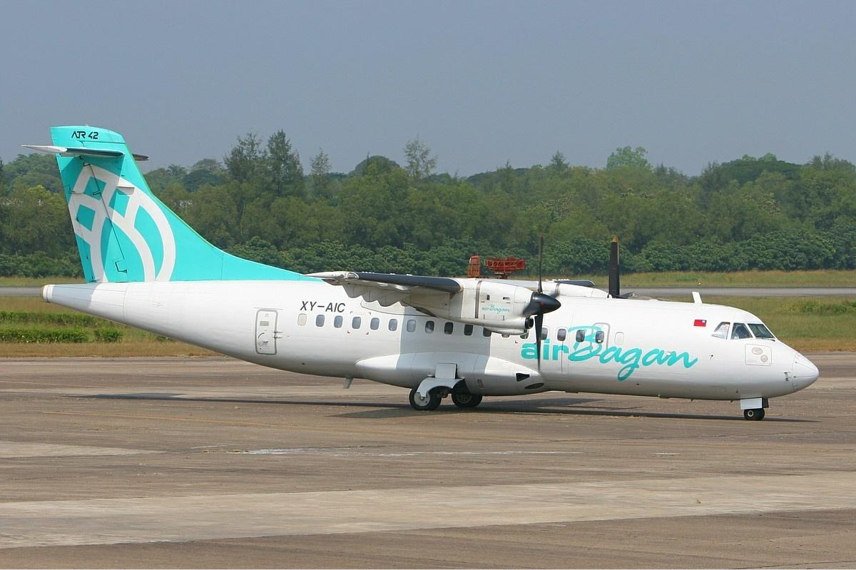 The airline Air Bagan (Air Bagan). Official sayt.2