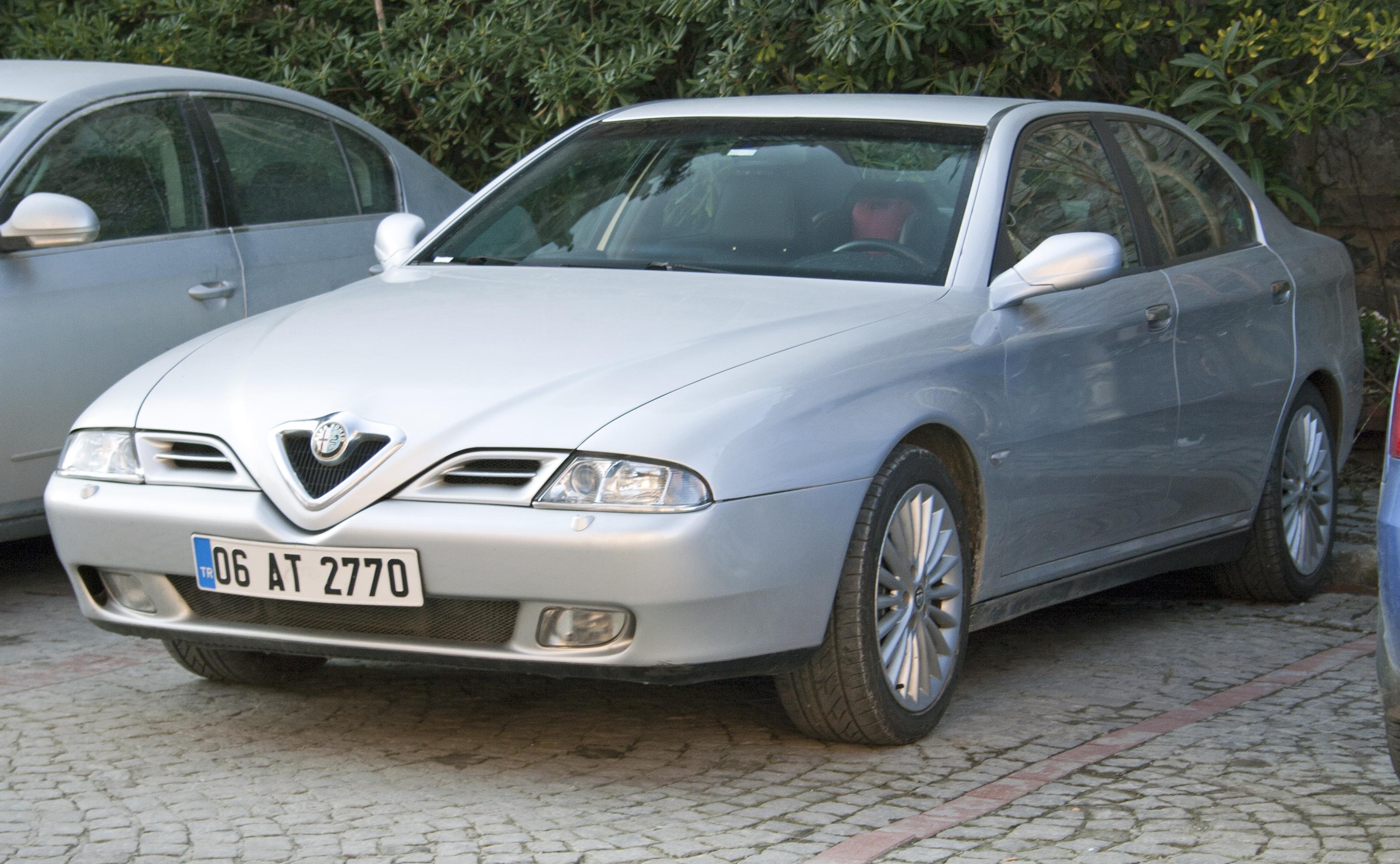 Alfa Romeo 166 – wolna encyklopedia