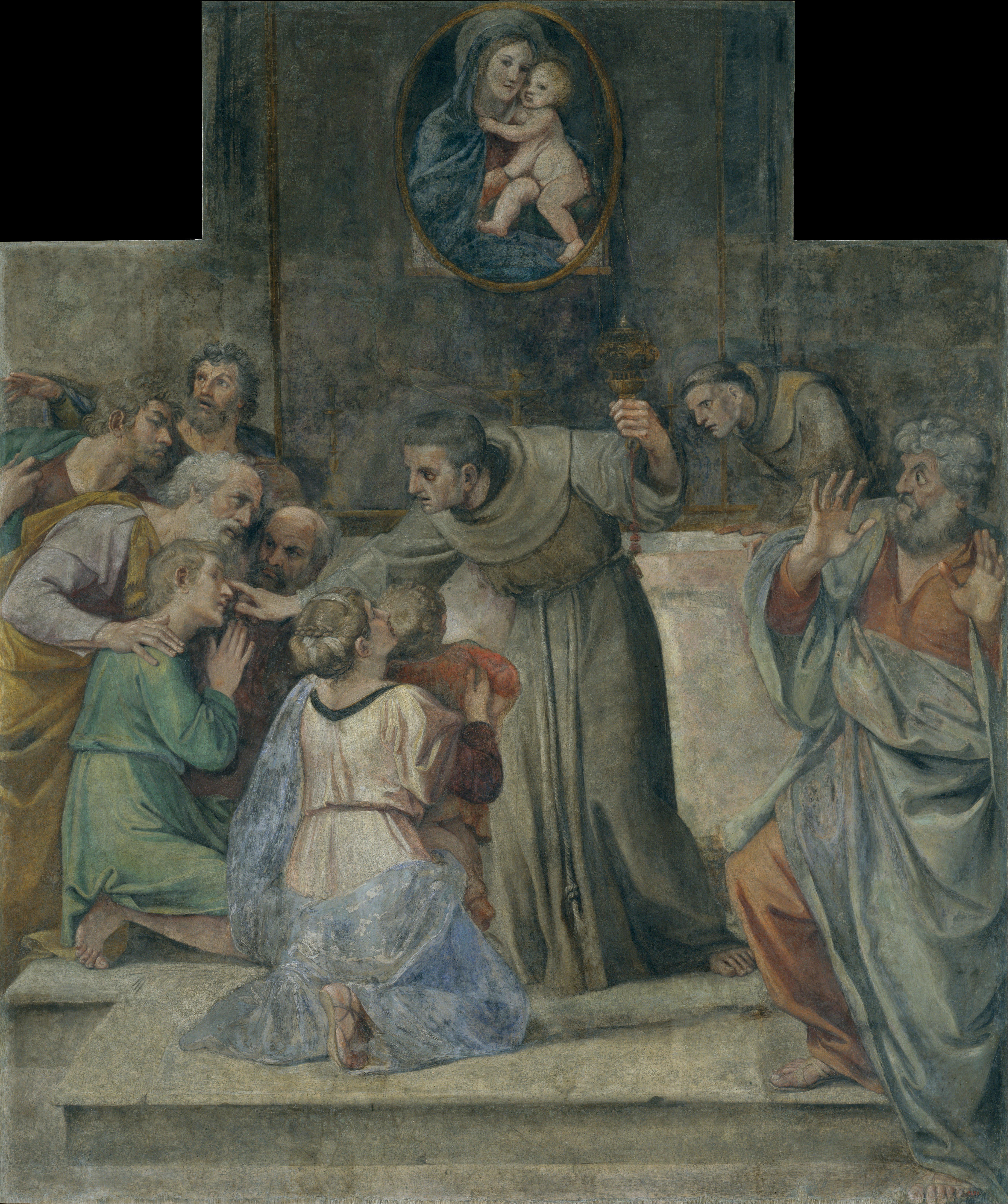 File Annibale Carracci Healing The Man Born Blind
