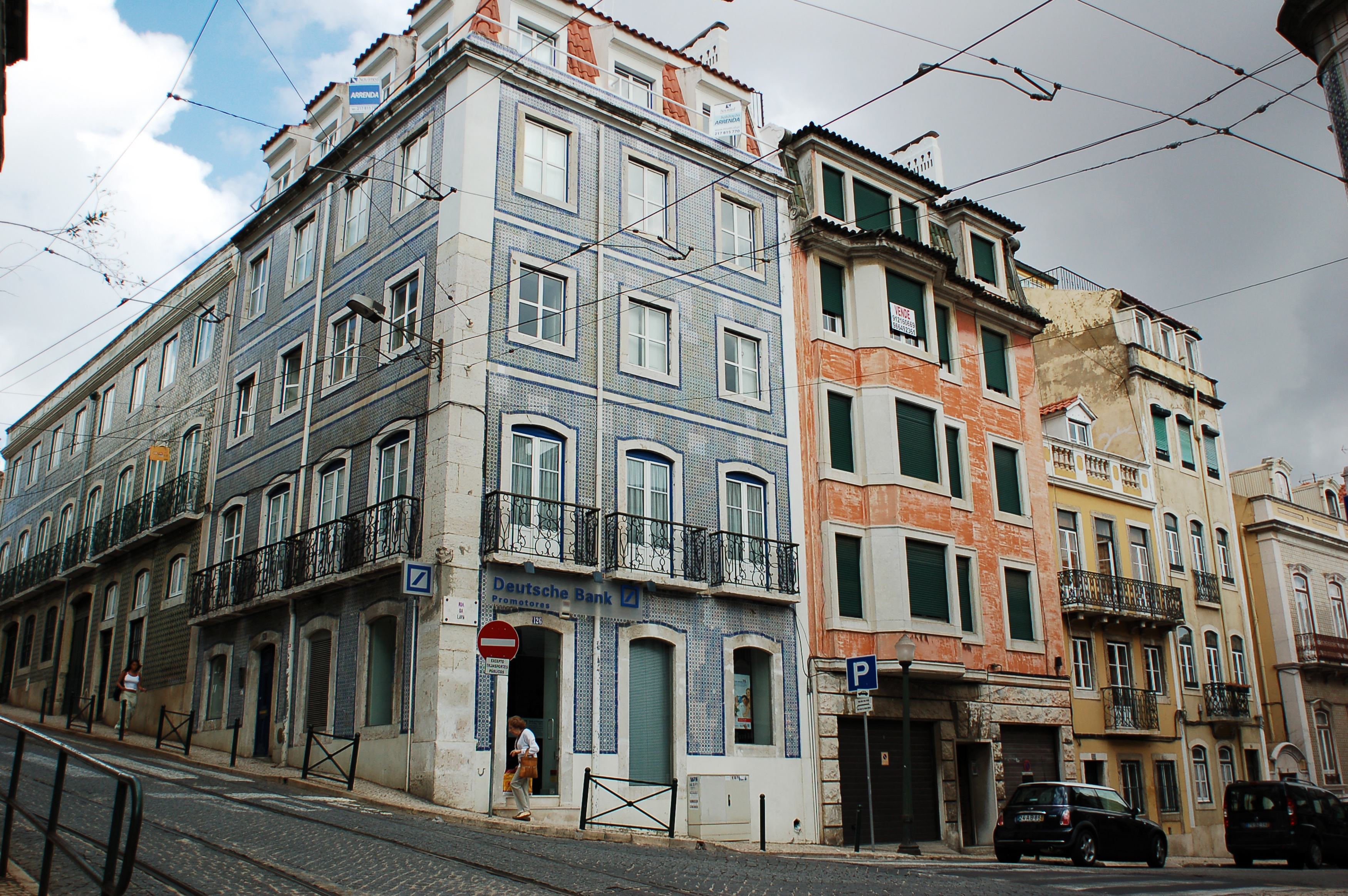 file architecture of lisbon streets pattern portugal