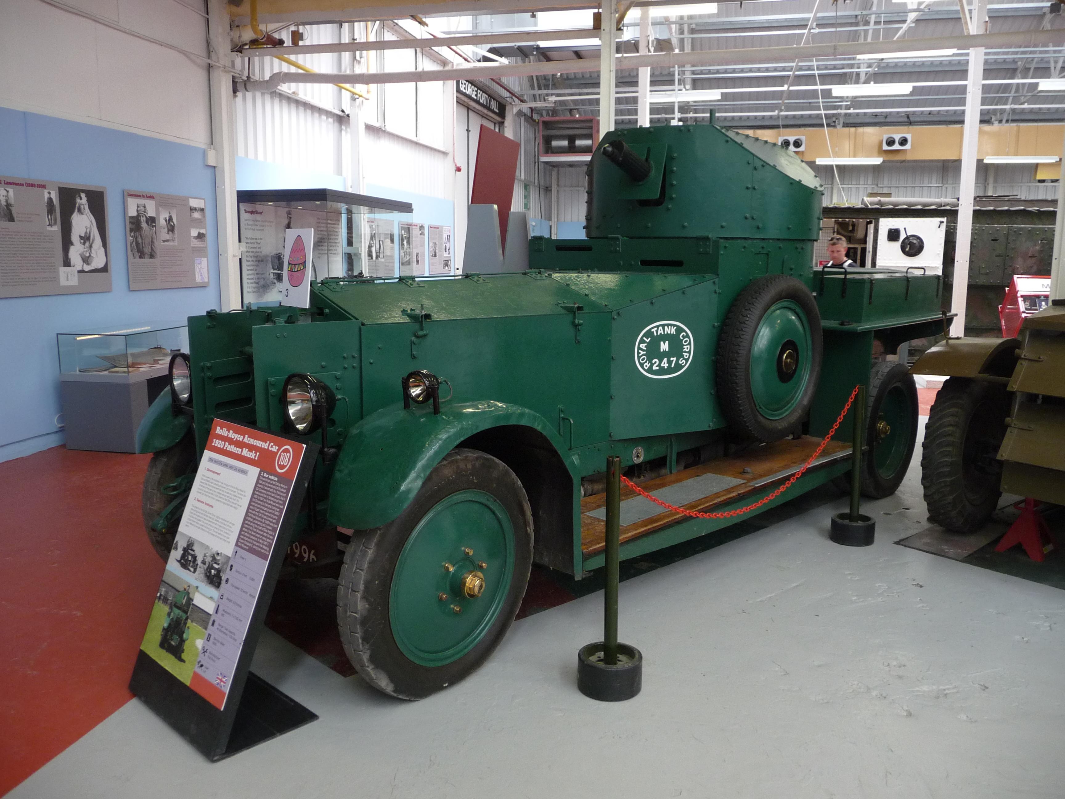 File:Armoured Car, Rolls Royce 1920 Pattern Mark I