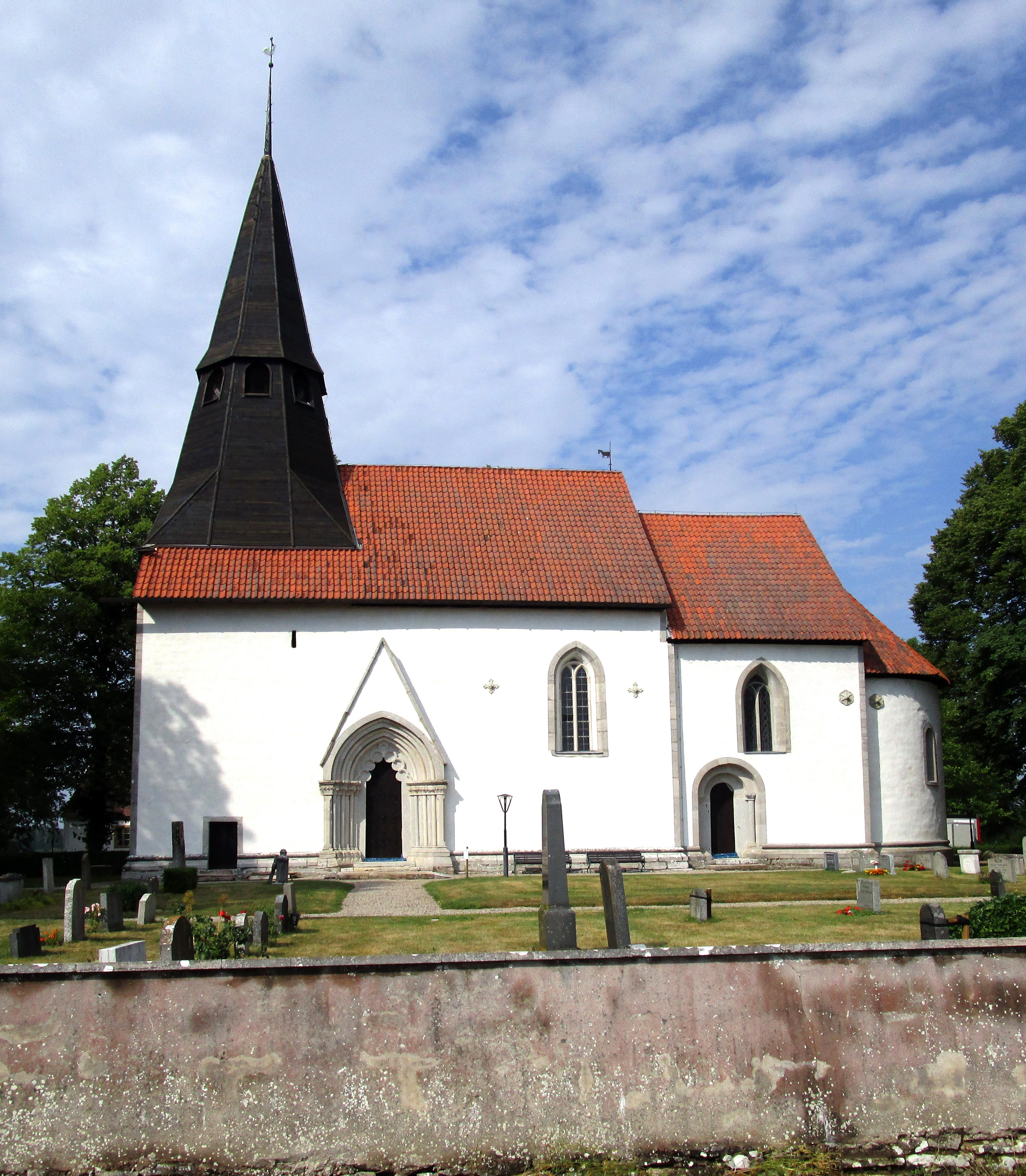 Bild av Atlingbo kyrka