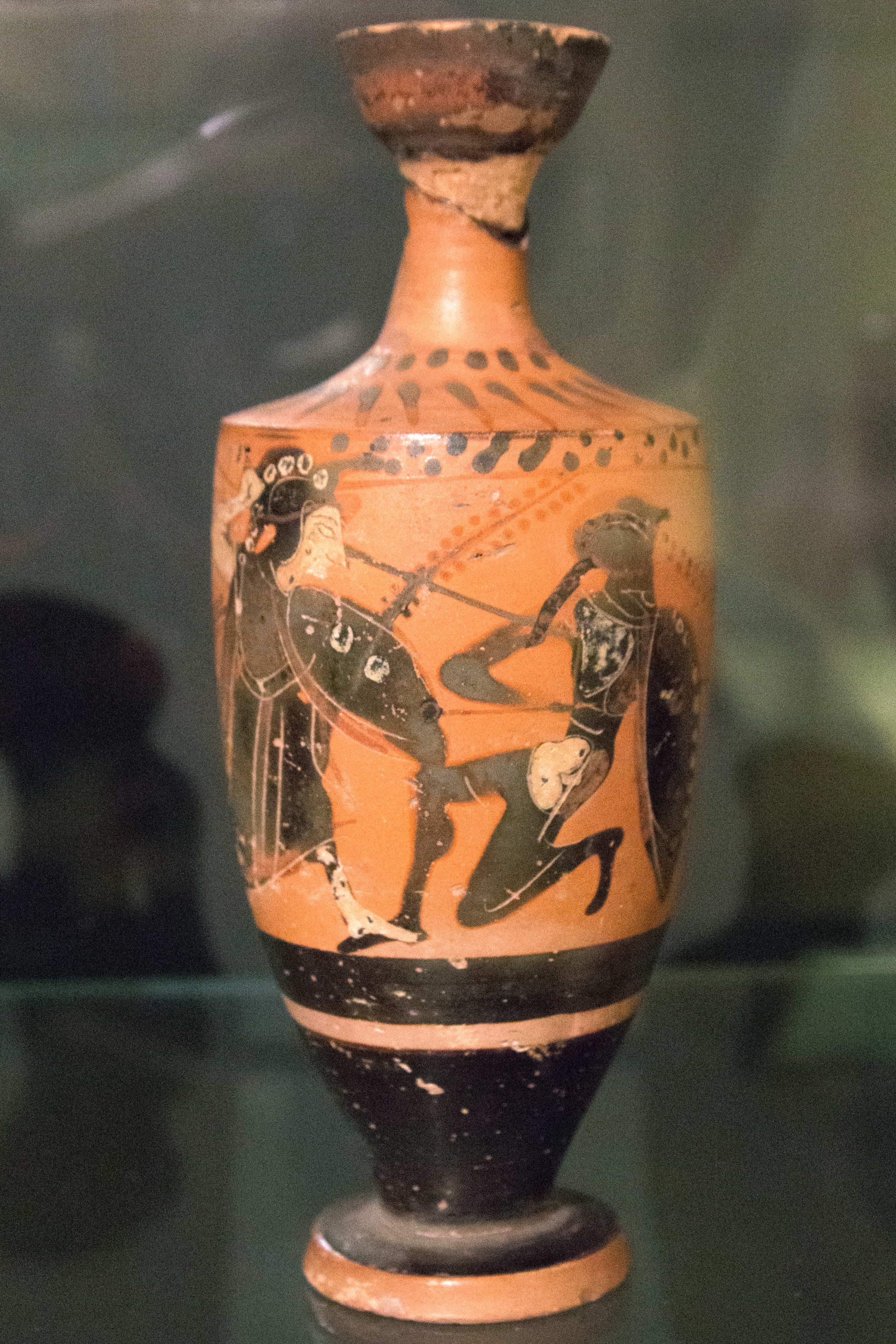 Fileattic black figure lekythos athena giants 500 480 bc fileattic black figure lekythos athena giants 500 480 bc reviewsmspy