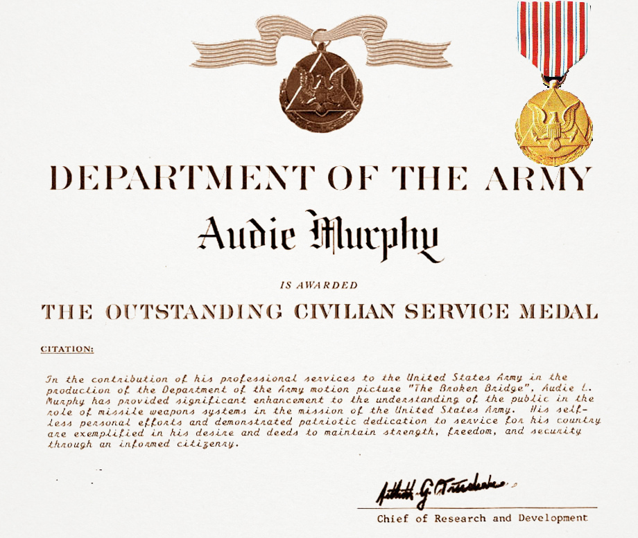 File:Audie Murphy Outstanding Civilian Service Certificate ...