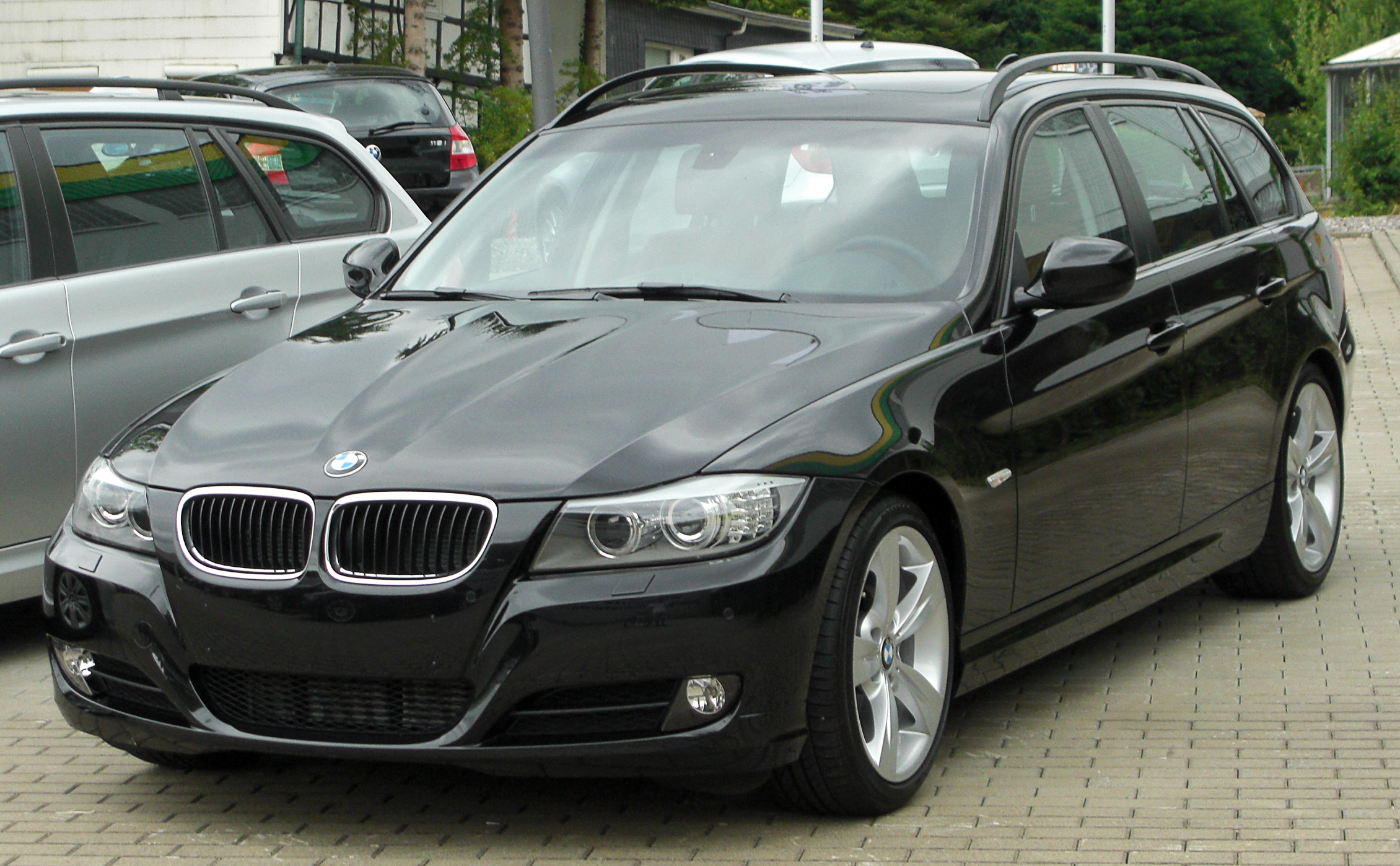 File Bmw 3er Touring E91 Facelift Front 20100725 Jpg