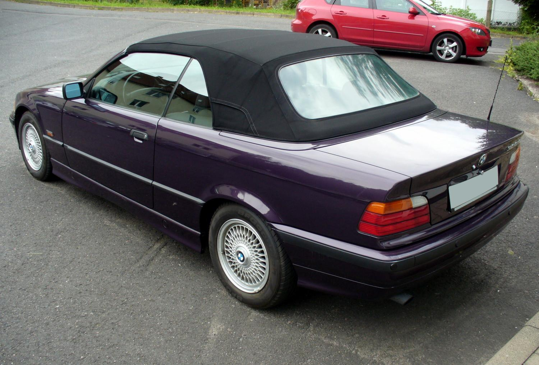 File Bmw E36 320i Cabrio Heck Jpg Wikimedia Commons
