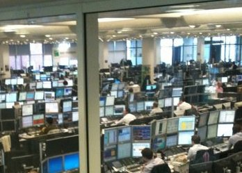 BNP Paribas London Trading Floor