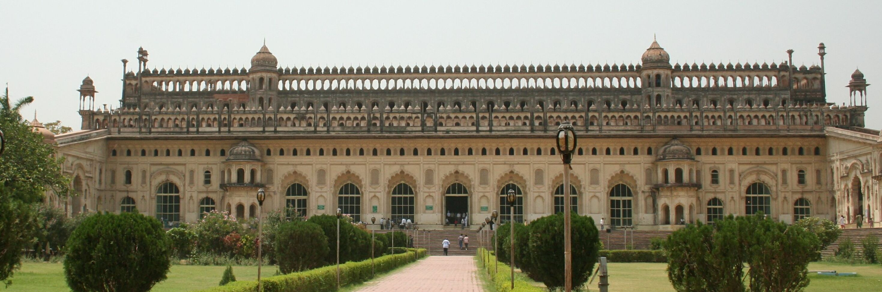 Bara Imambara facade, Lucknow India