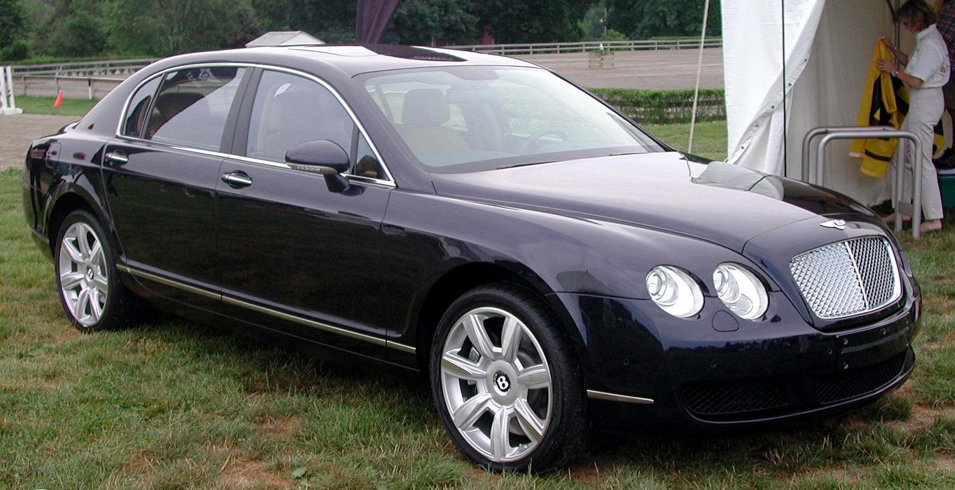Bentley continental sedan