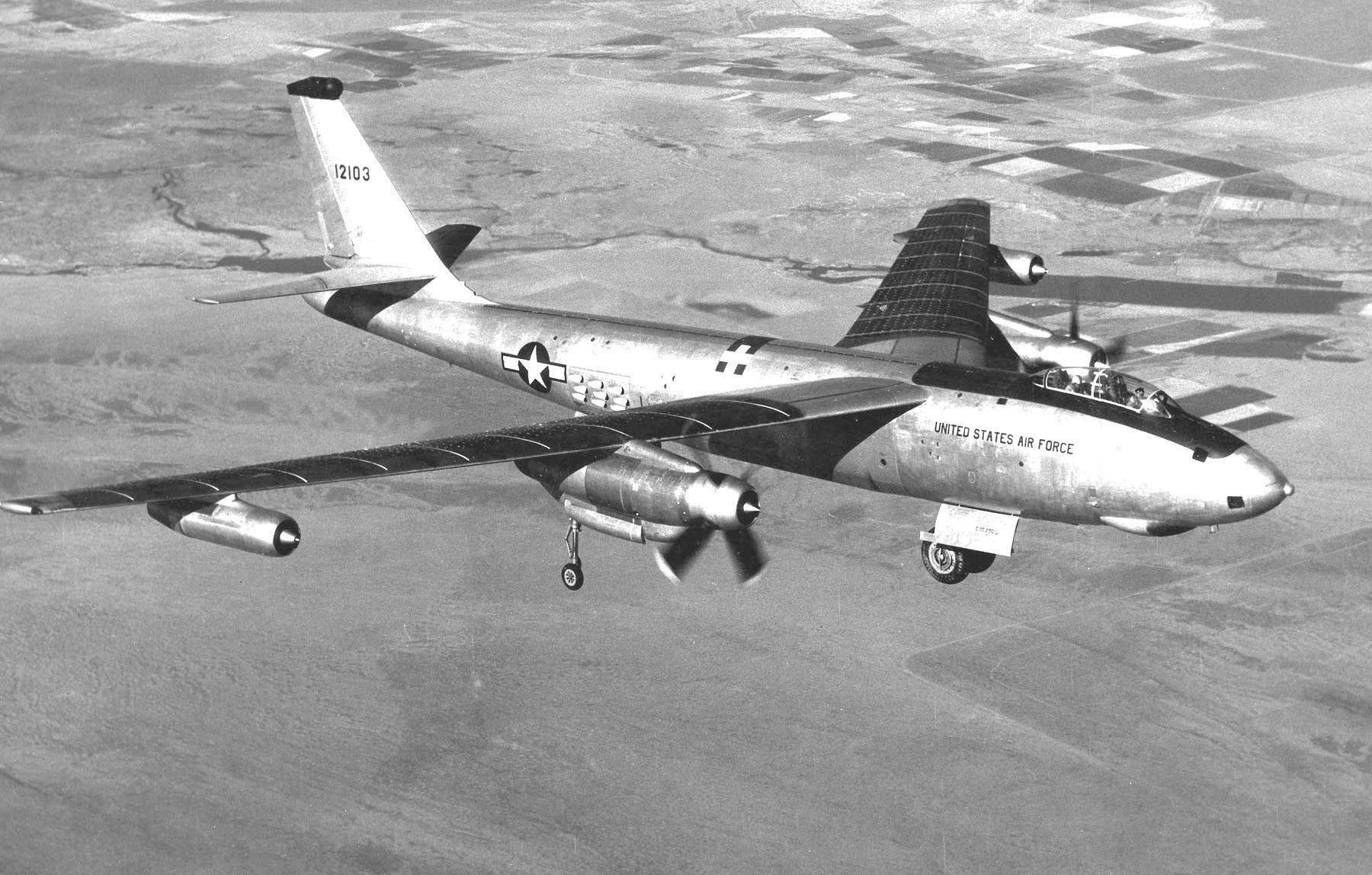 Boeing B 47 Stratojet Wikipedia Basic Experimental Aircraft Wiring Diagram Xb 47d
