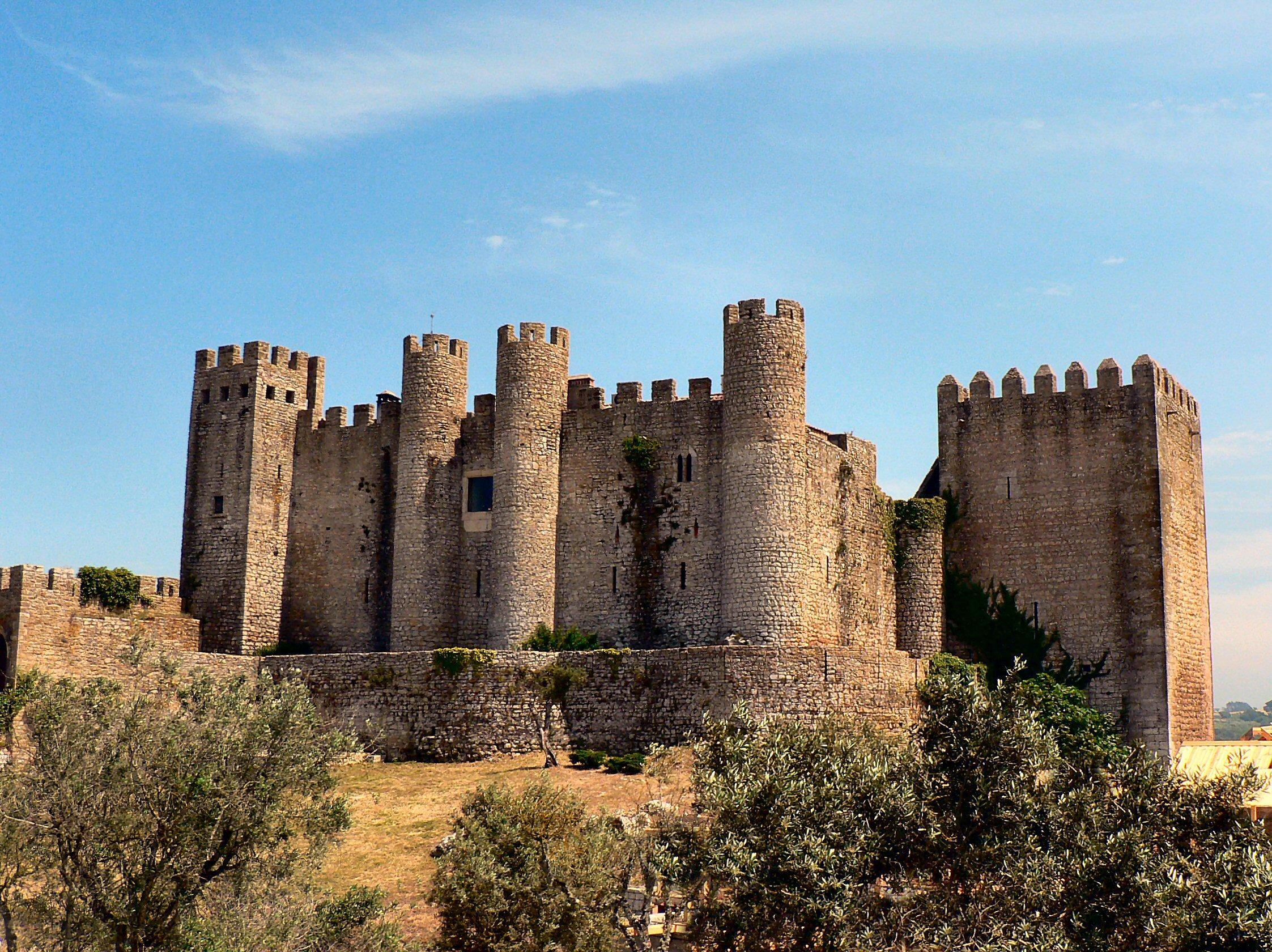Obidos Portugal  city pictures gallery : Image:Castelo de Óbidos actual pousada