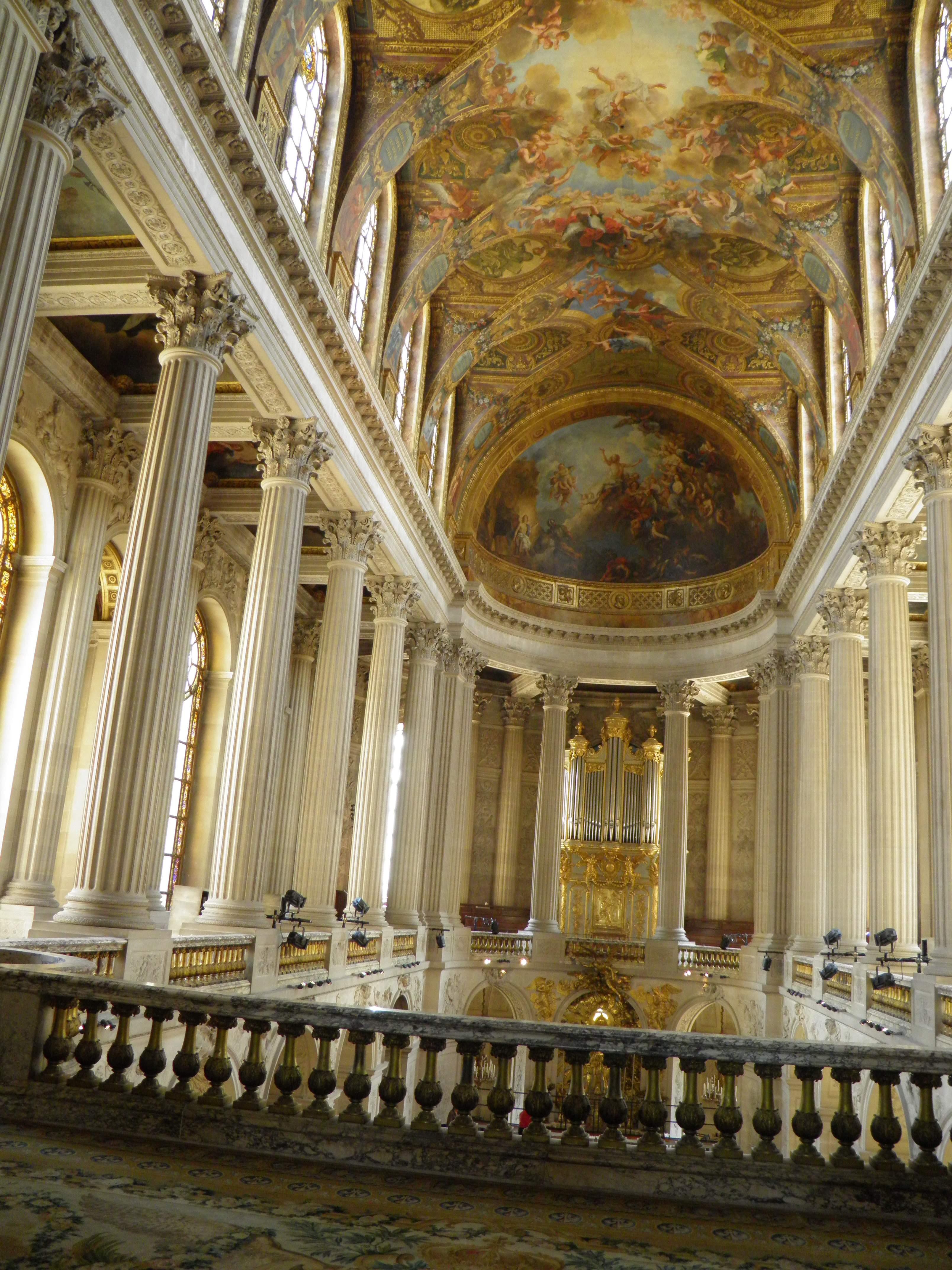 File:Château de Versailles - Chapelle - Intérieur, étage (2).jpg ...