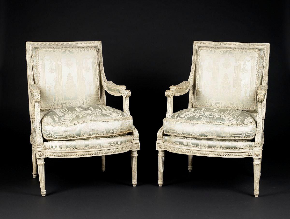 File chairs georgesjacob wikimedia commons - Sillas luis xvi modernas ...
