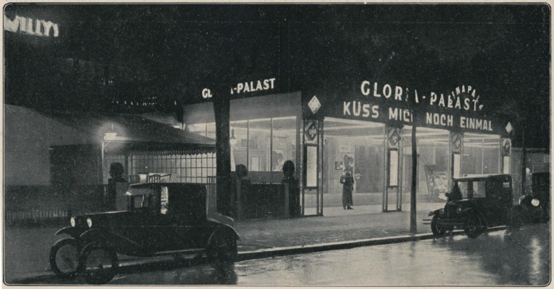 Gloria-Palast , illustratie Het Leven 1927 [Public domain], via Wikimedia Commons