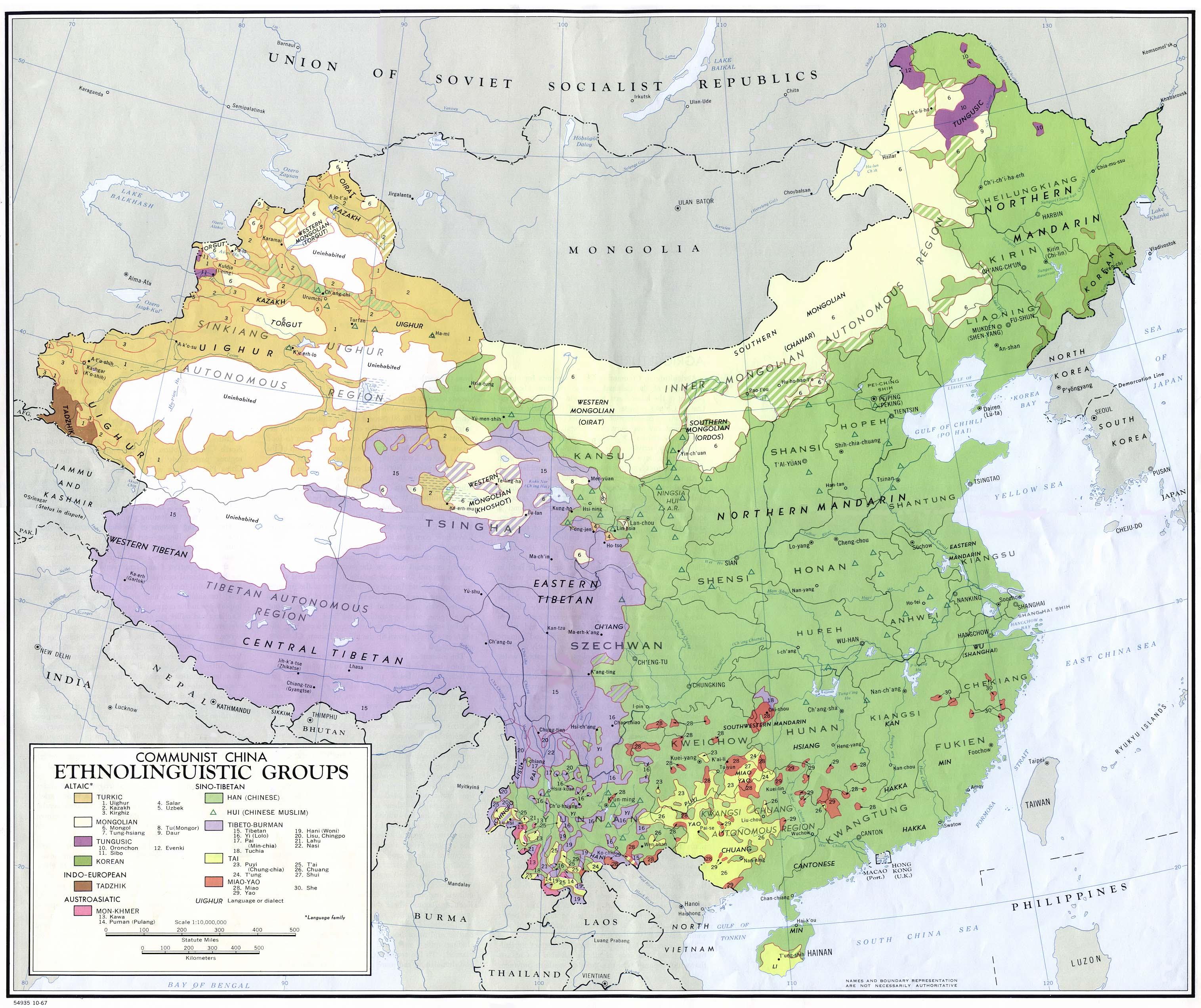 Mapa de China