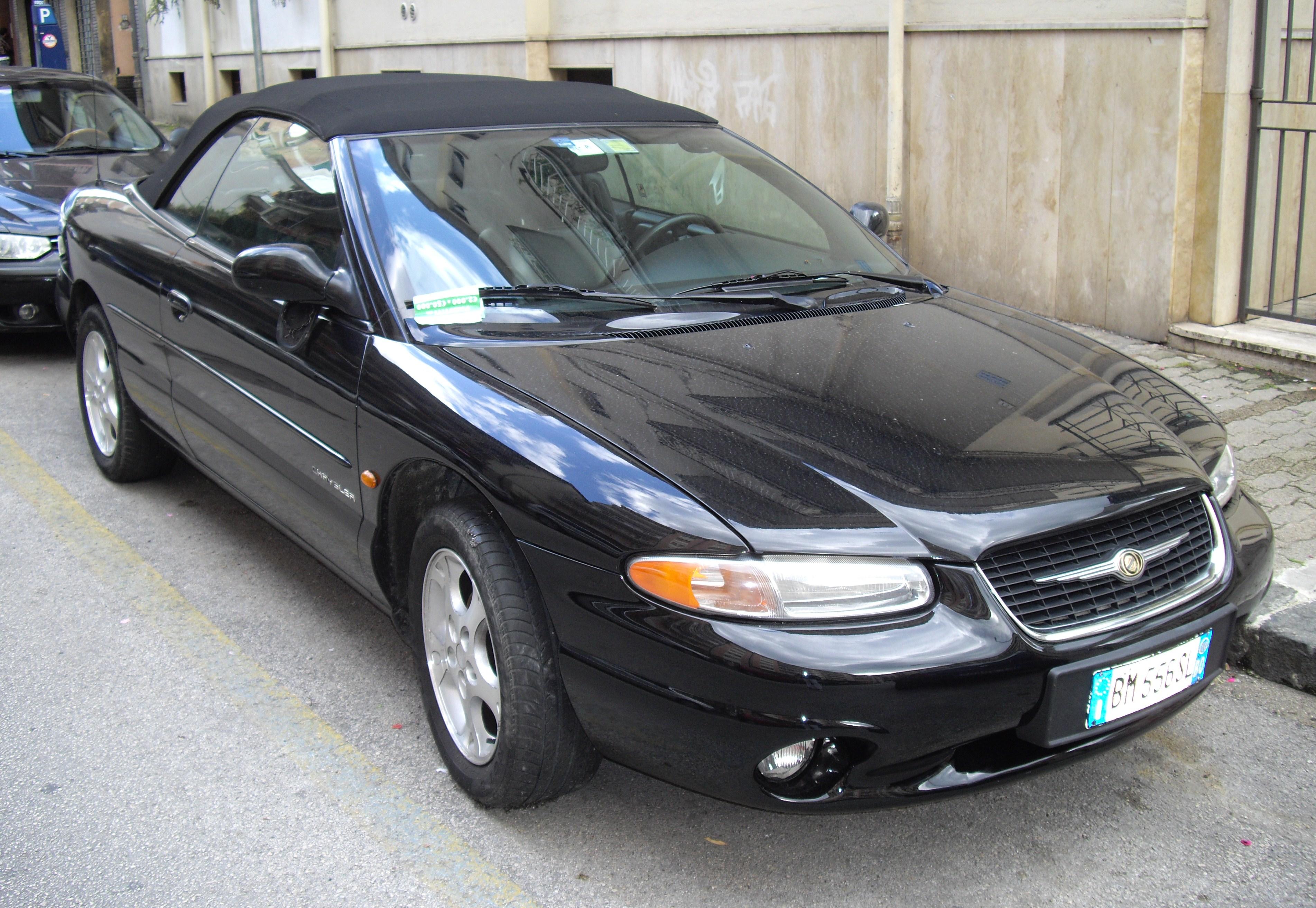 File Chrysler Stratus Jpg Wikimedia Commons
