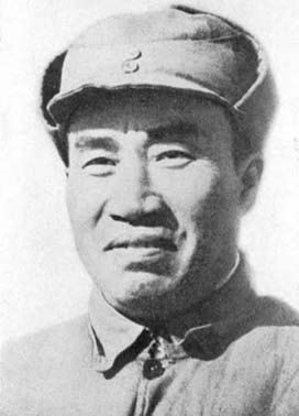 the Chinese communist Red Army leader Zhu De in the 1930's