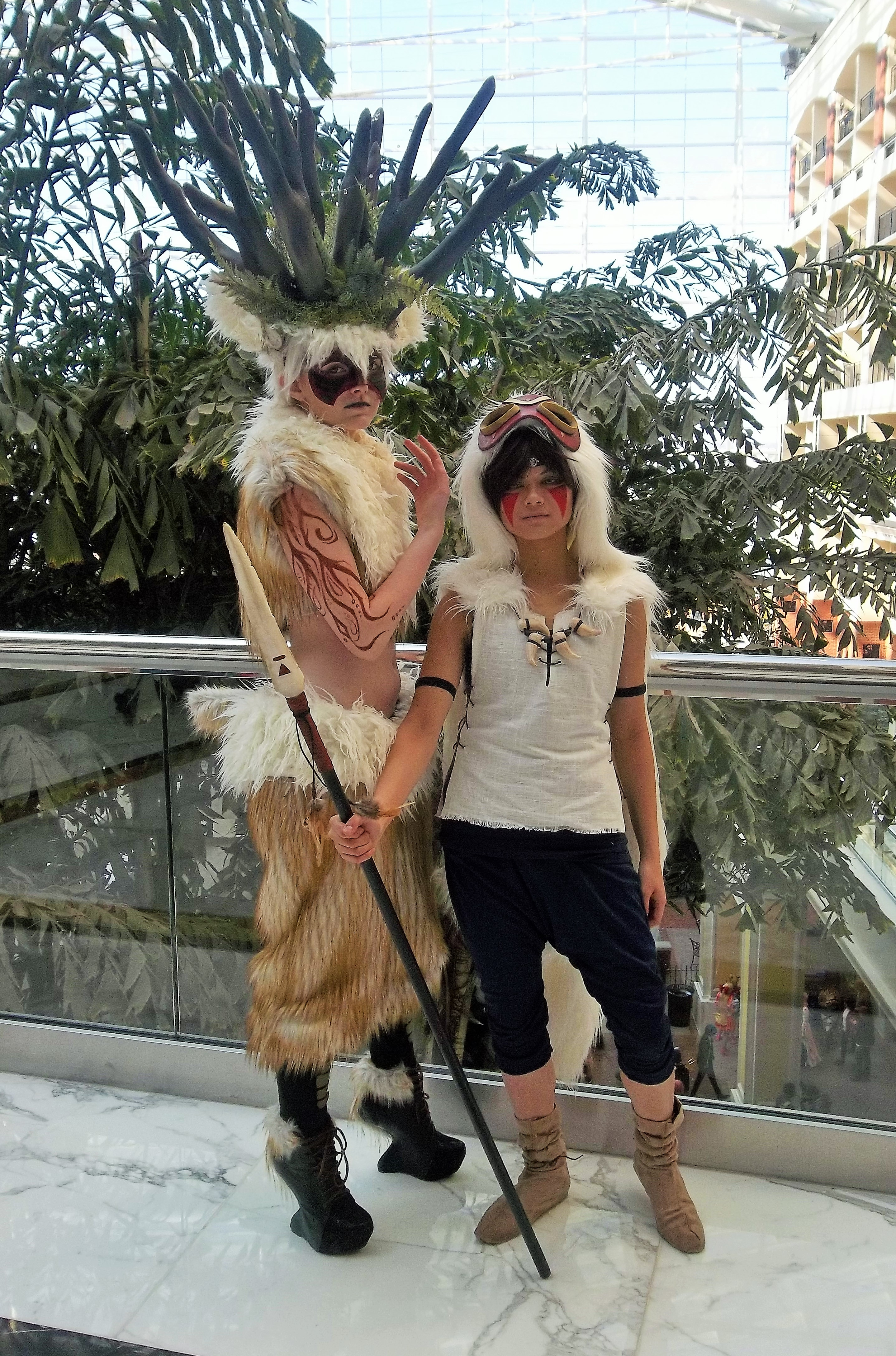 File Cosplay Of The Forest Spirit And San Princess Mononoke At