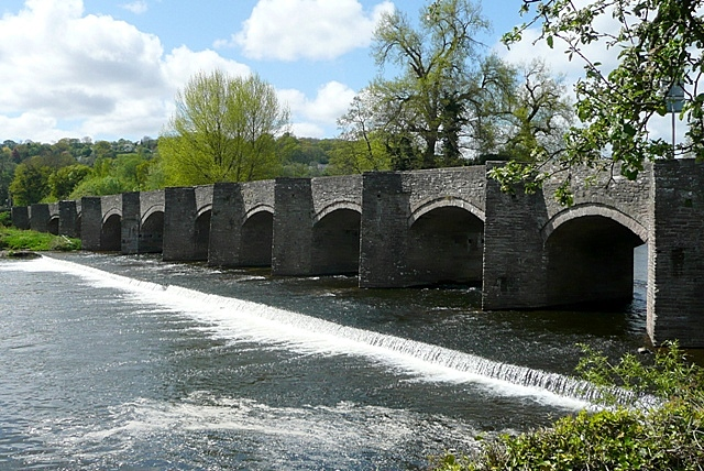Crickhowell Bridge - geograph.org.uk - 1299503