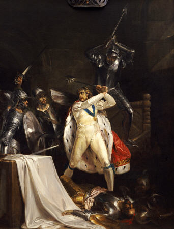 The death of King Verin Desderon of the Fangul