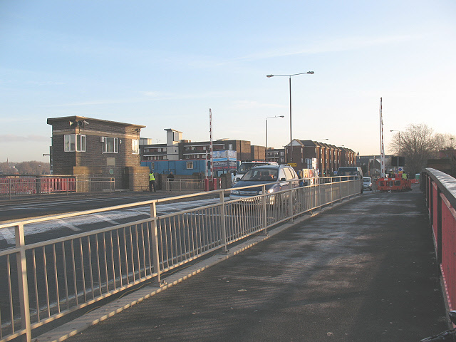 Deptford Creek Bridge - geograph.org.uk - 1607717