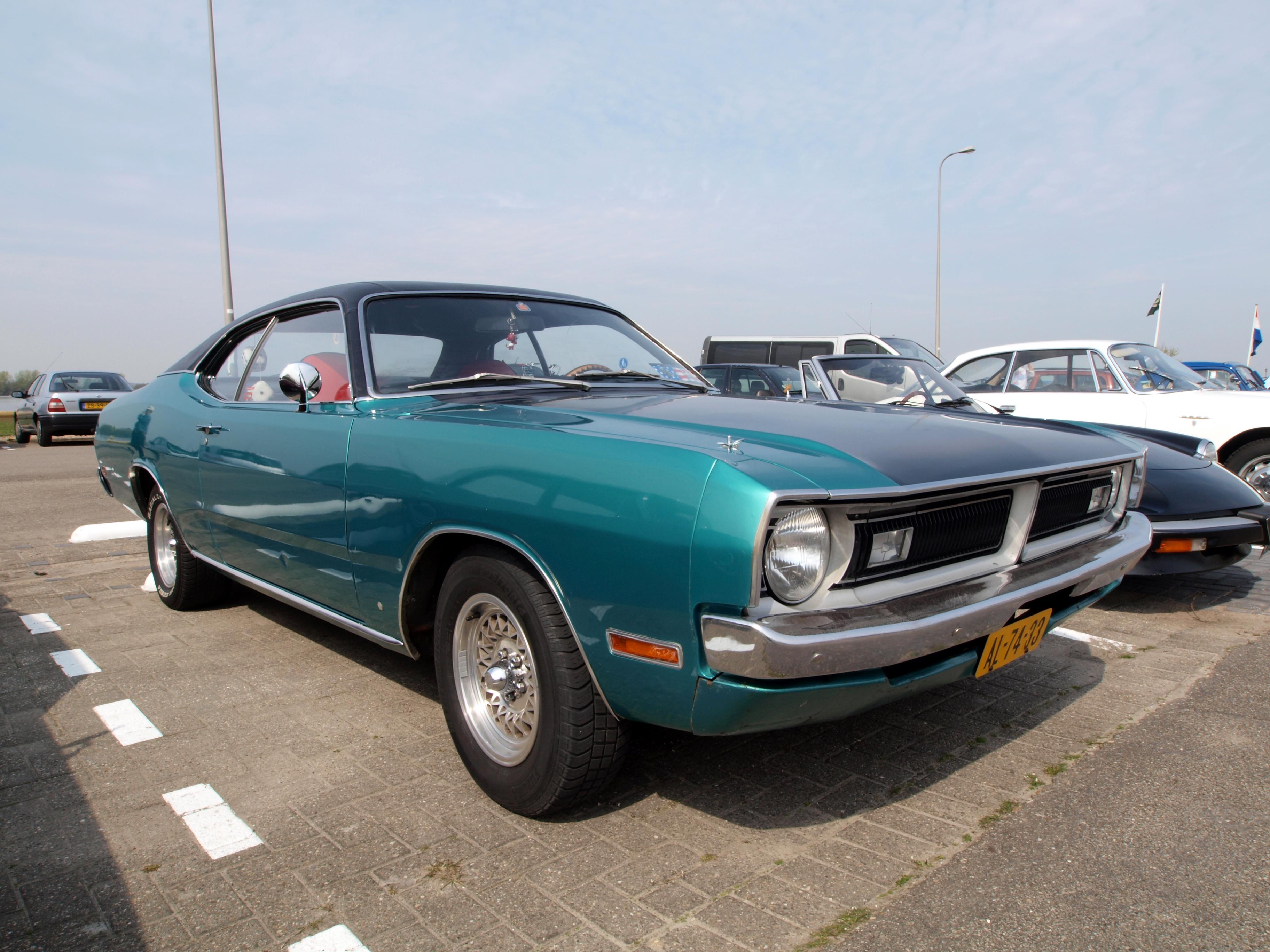 File Dodge Demon Aslash318 1971 Dutch Licence