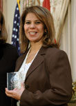 Dr. Sundus Abbas of Iraq, 2007 International Women of Courage Award.jpg