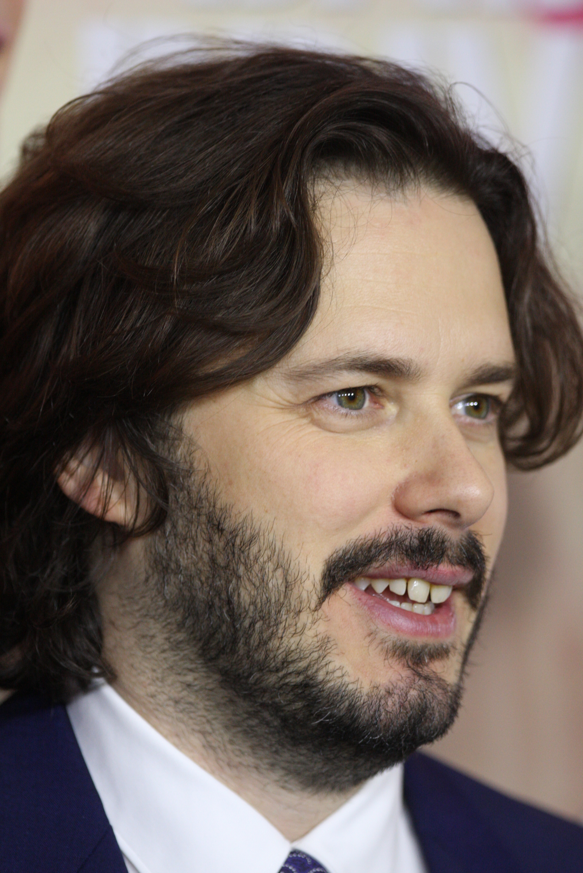 Picture of an author: Edgar Wright