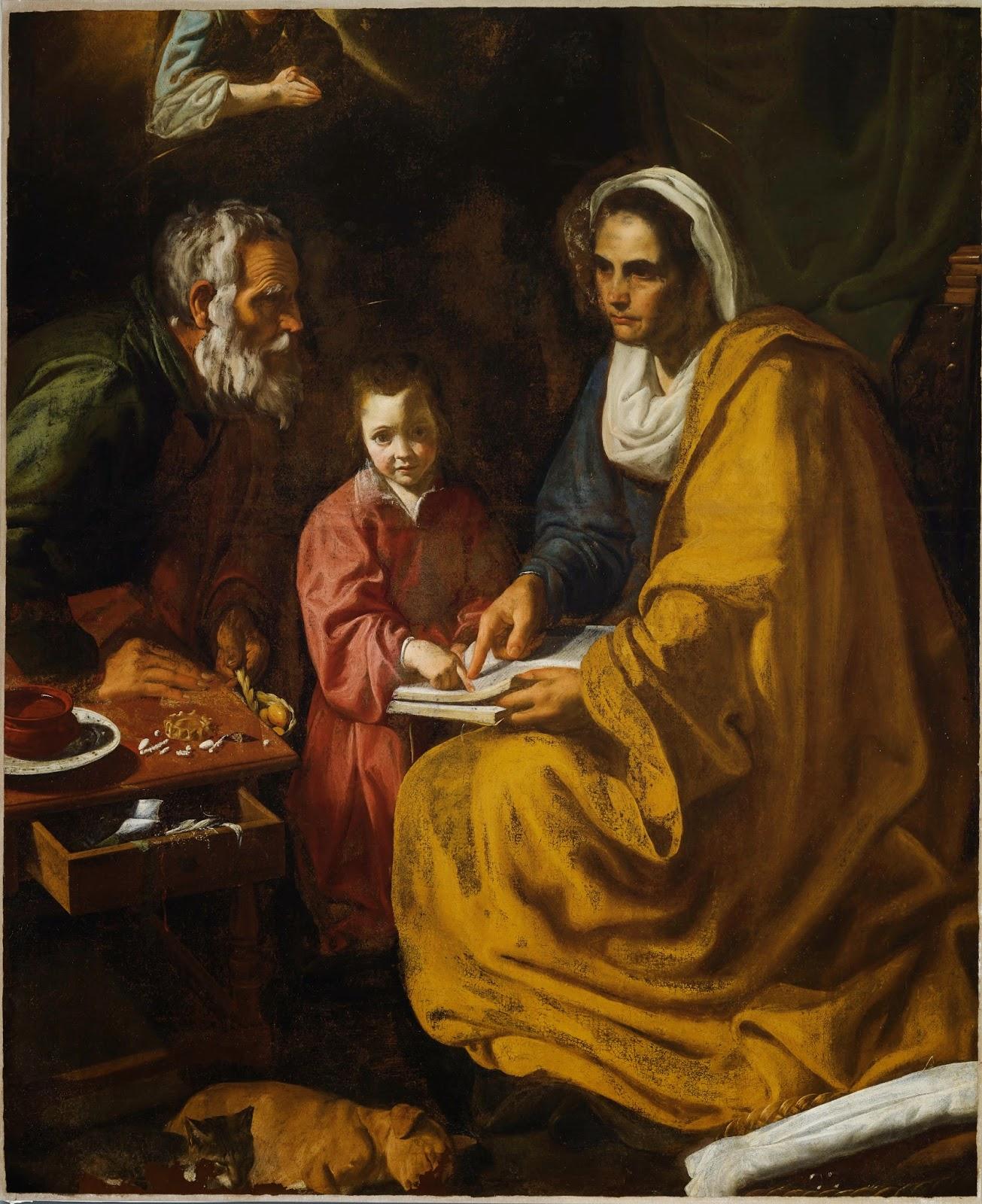La Educación de la Virgen