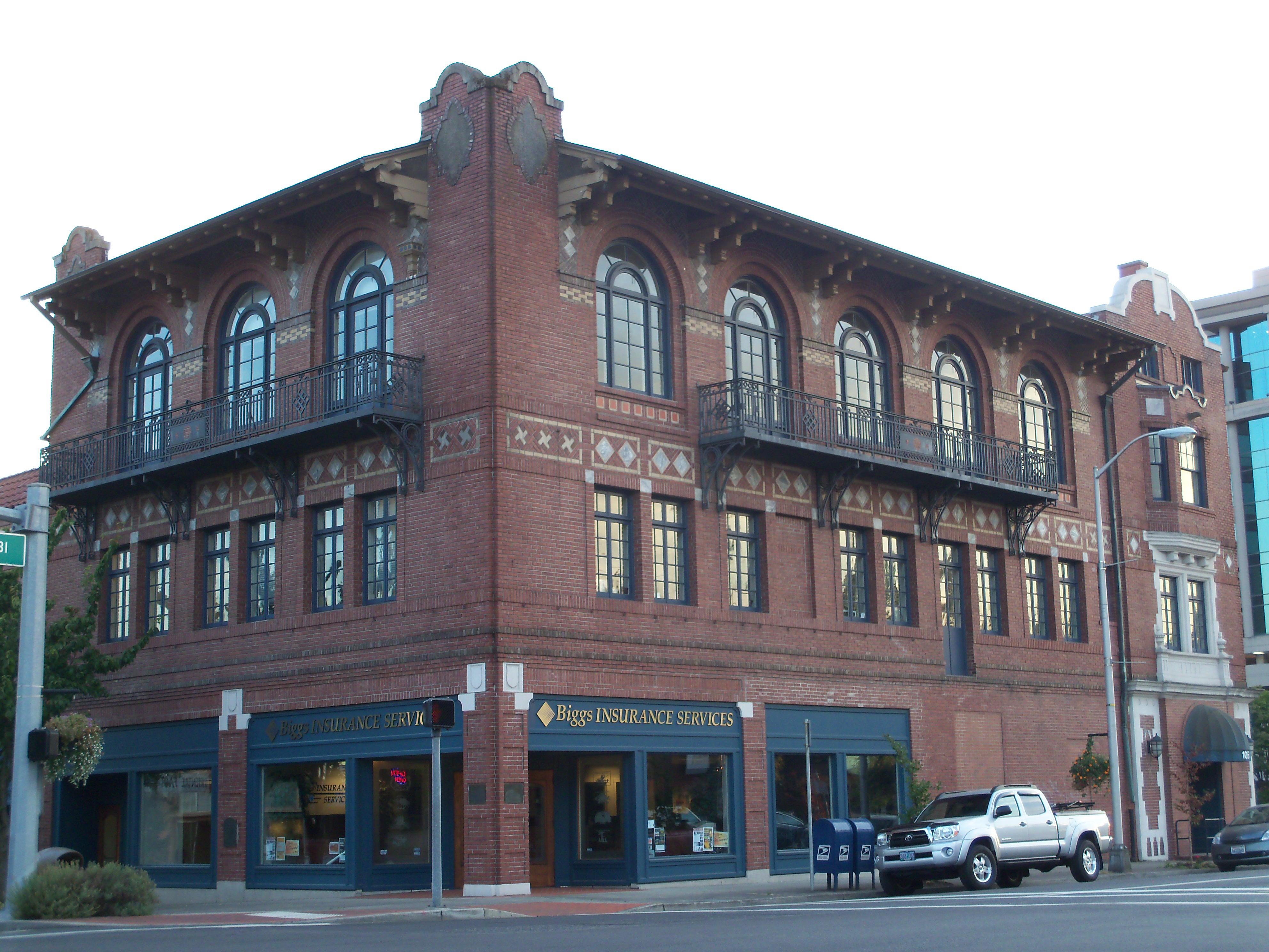 File Elks Building In Vancouver Wa Jpg Wikimedia Commons