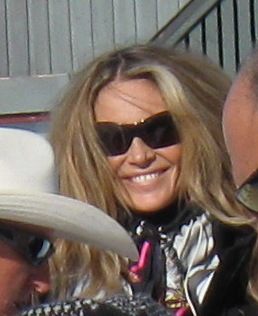 Photo of Elle Macpherson in Aspen, CO