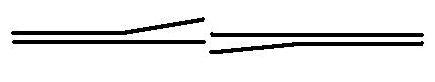 Κάθετη τομή του σχεδιασμού του Ευπαλίνου για το όρυγμα